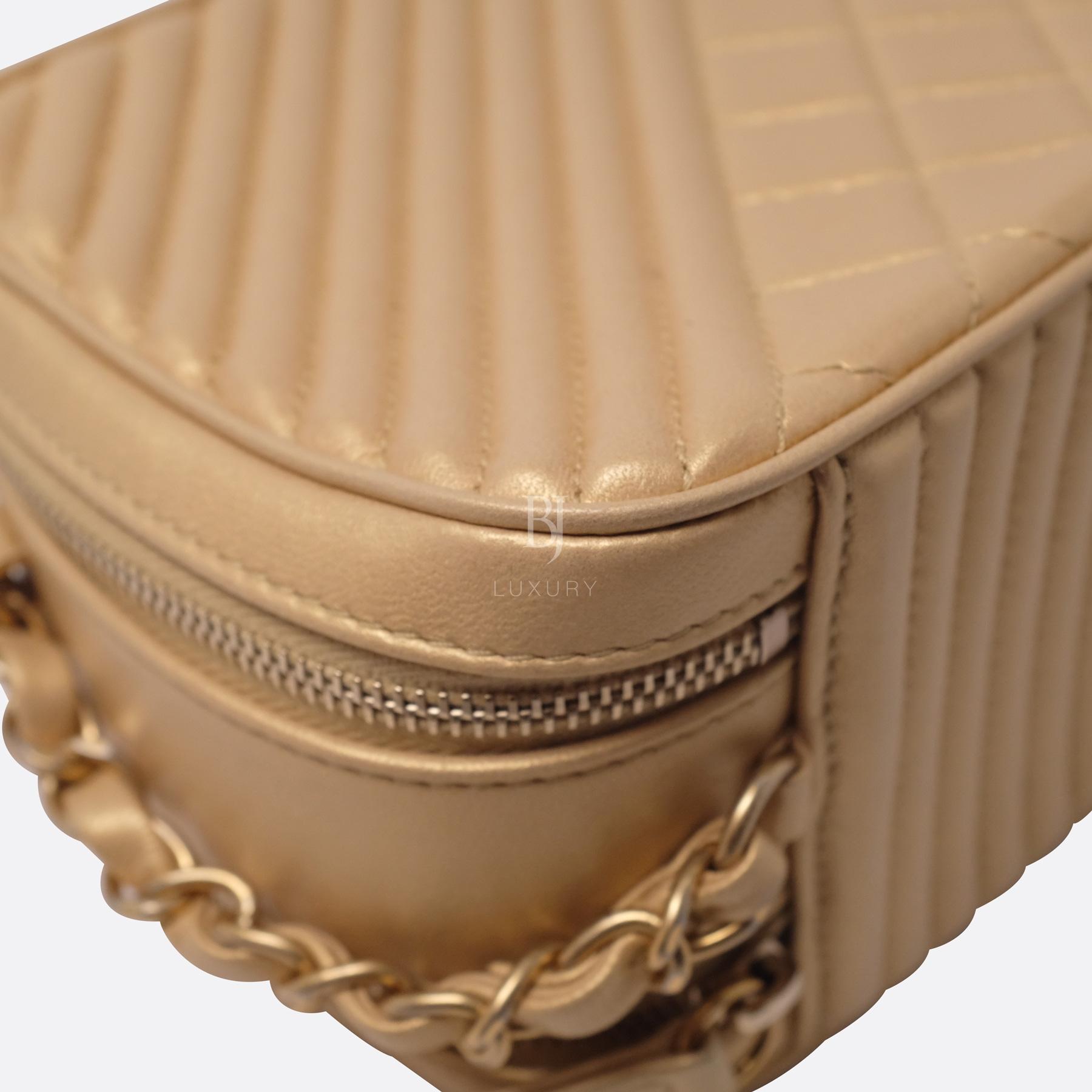 Chanel Camera Case Medium Brushed Gold Calf Gold BJ Luxury 14.jpg