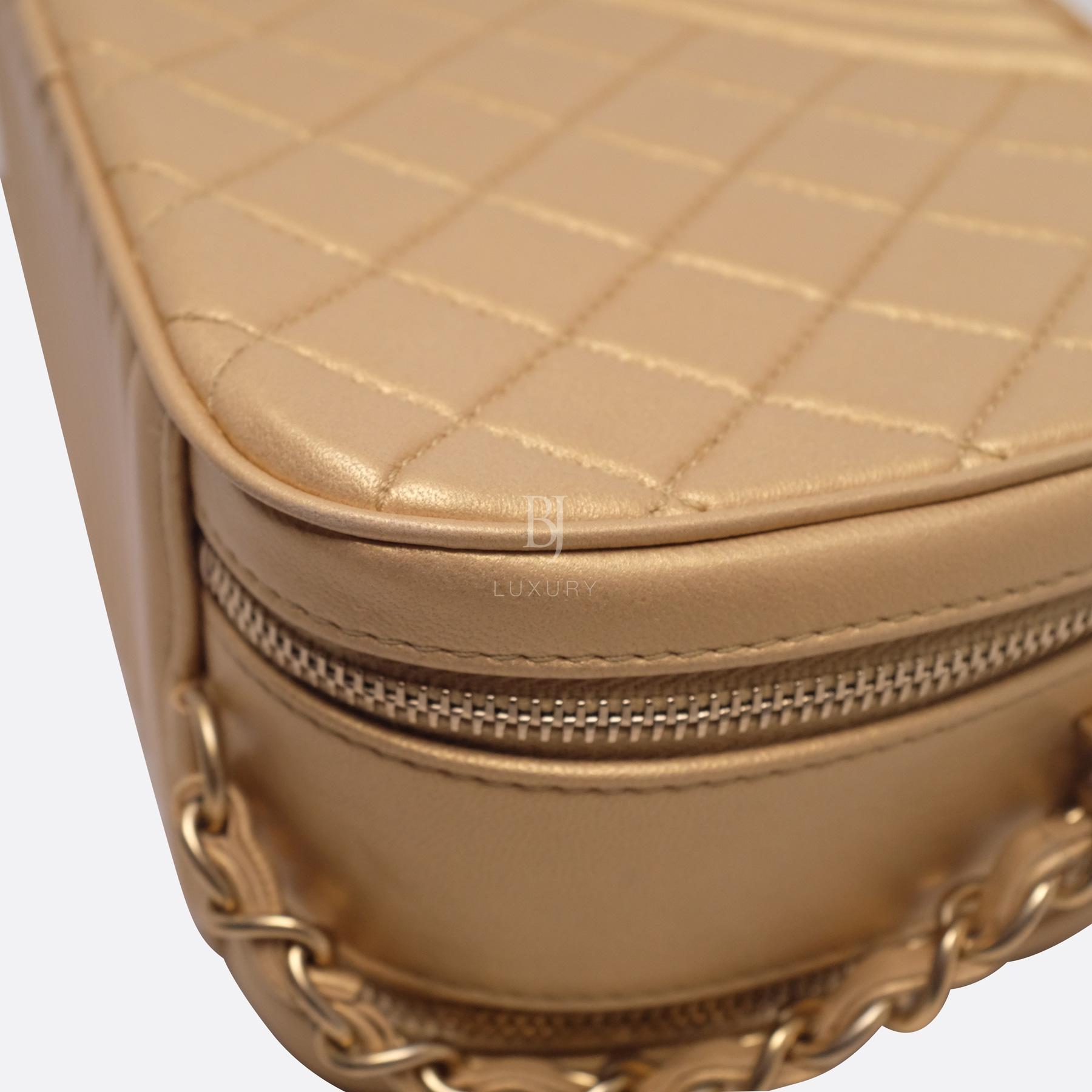 Chanel Camera Case Medium Brushed Gold Calf Gold BJ Luxury 15.jpg