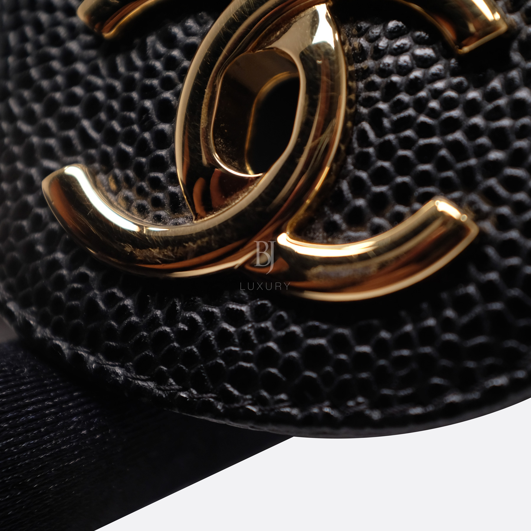 Chanel Classic Handbag Caviar Maxi Black BJ Luxury 14.jpg