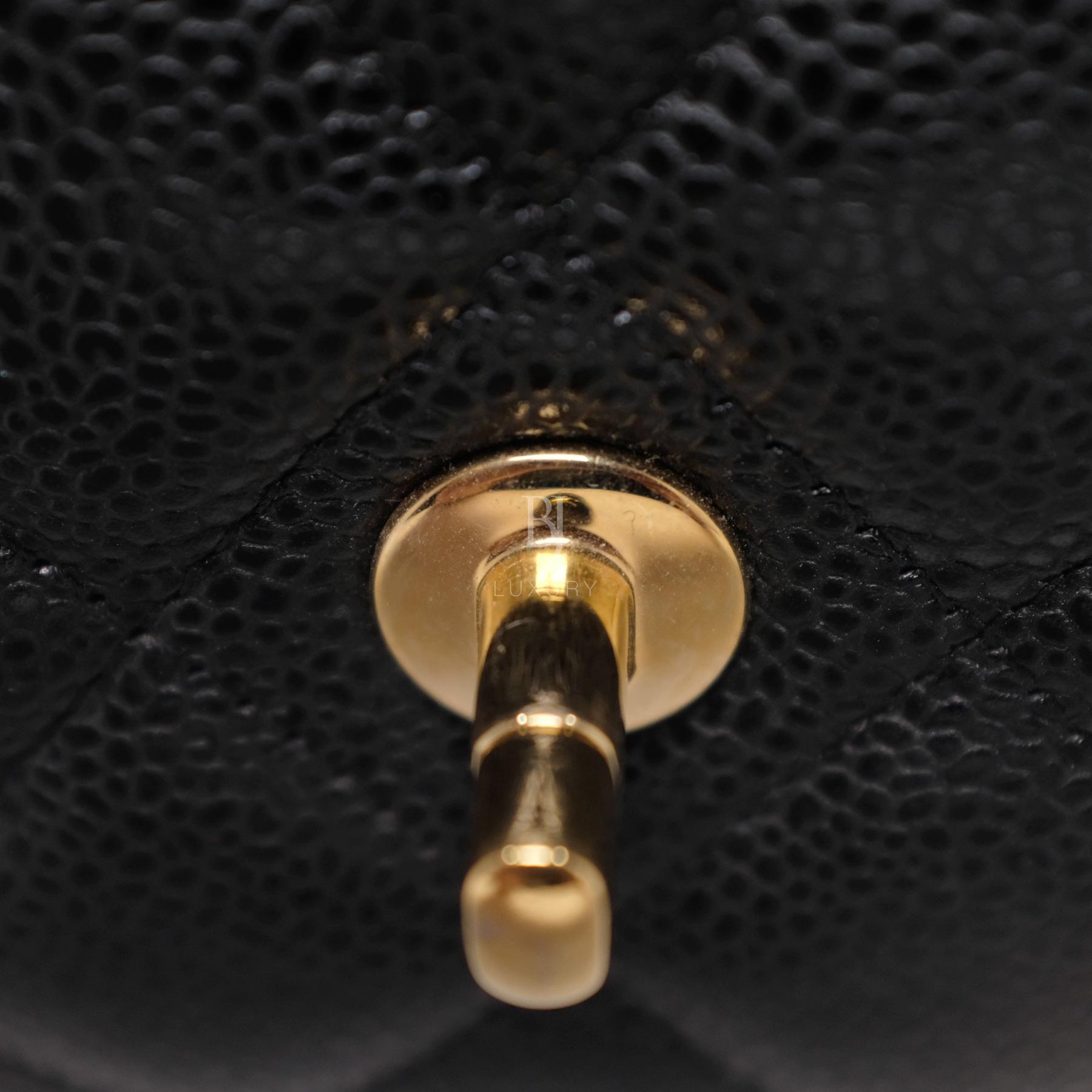 Chanel Classic Handbag Caviar Maxi Black BJ Luxury 17.jpg