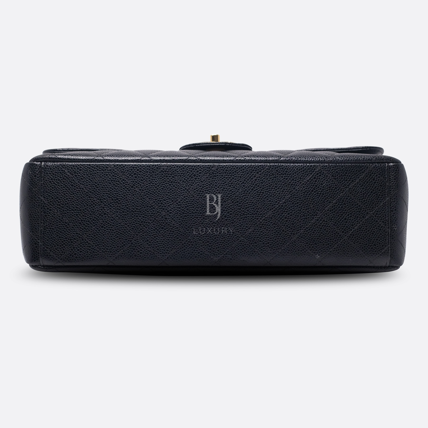 Chanel Classic Handbag Caviar Maxi Black BJ Luxury 7.jpg
