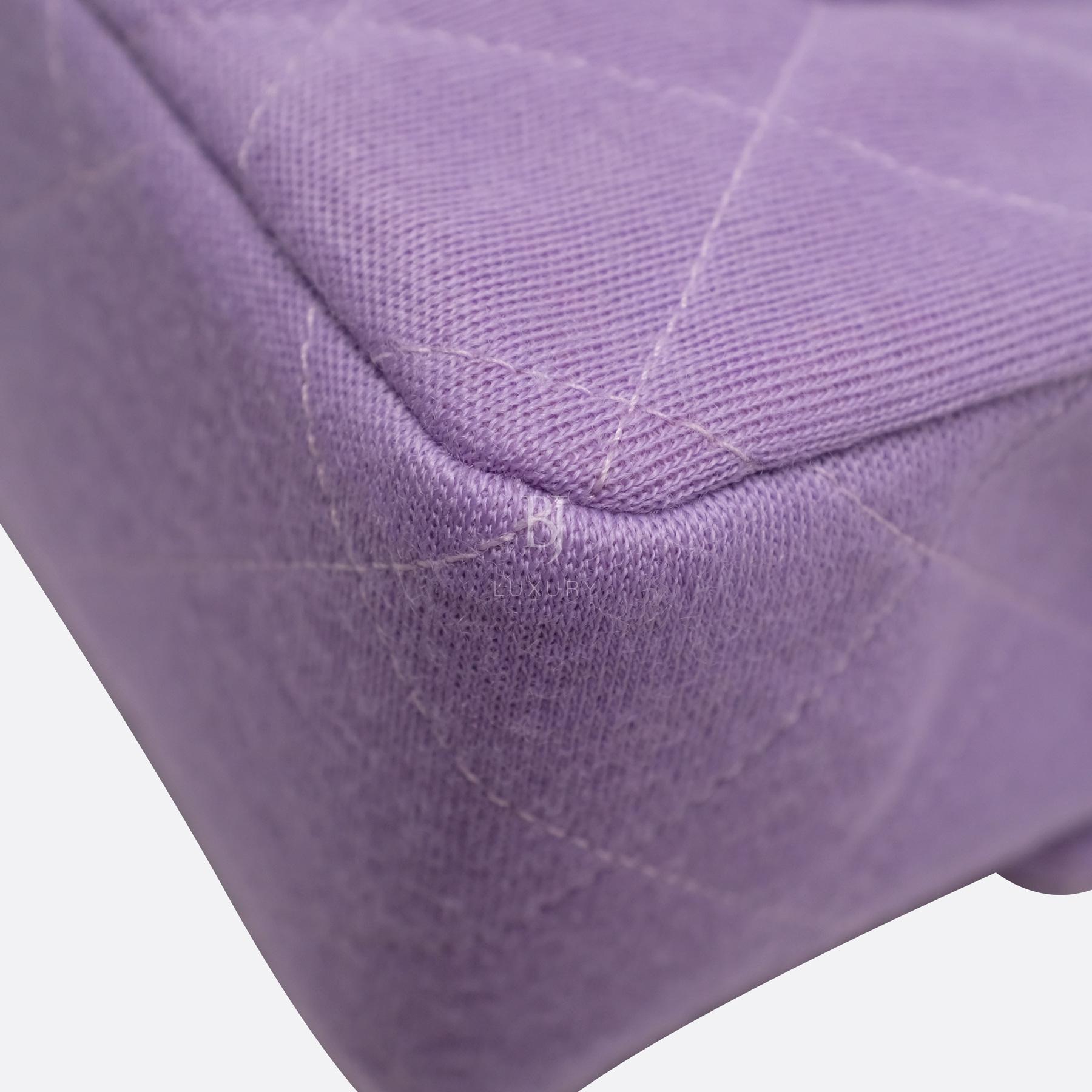 Chanel Flap Bag Medium Jersey Gold Lilac BJ Luxury 10.jpg