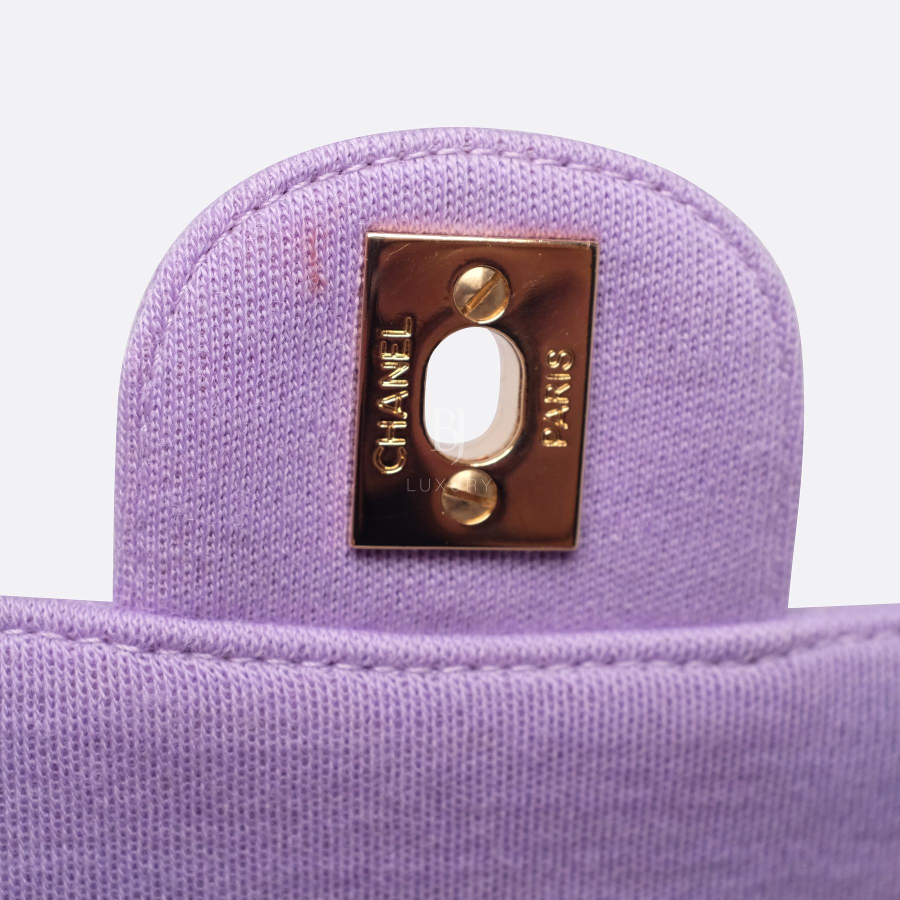 Chanel Flap Bag Medium Jersey Gold Lilac BJ Luxury 14.jpg