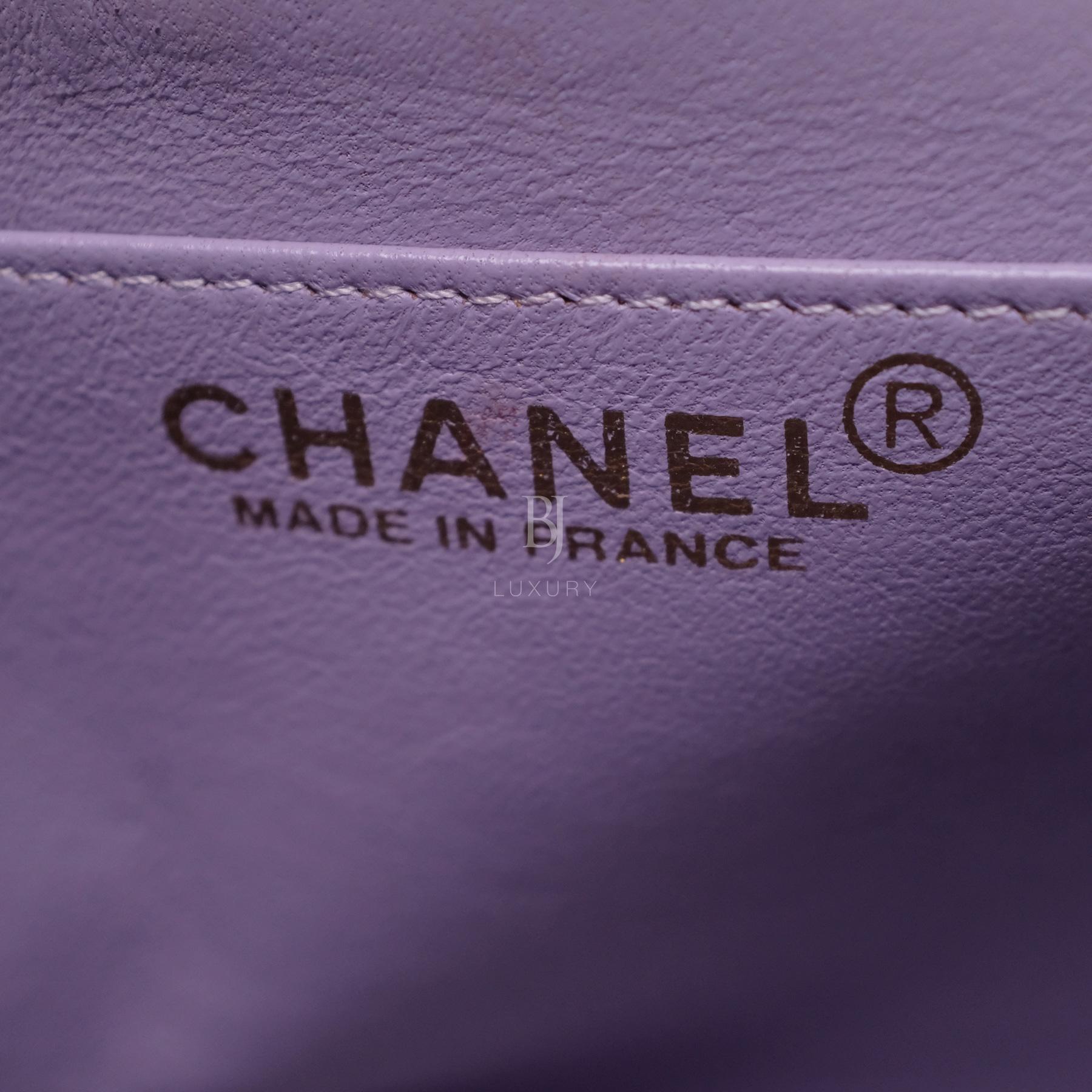 Chanel Flap Bag Medium Jersey Gold Lilac BJ Luxury 16.jpg
