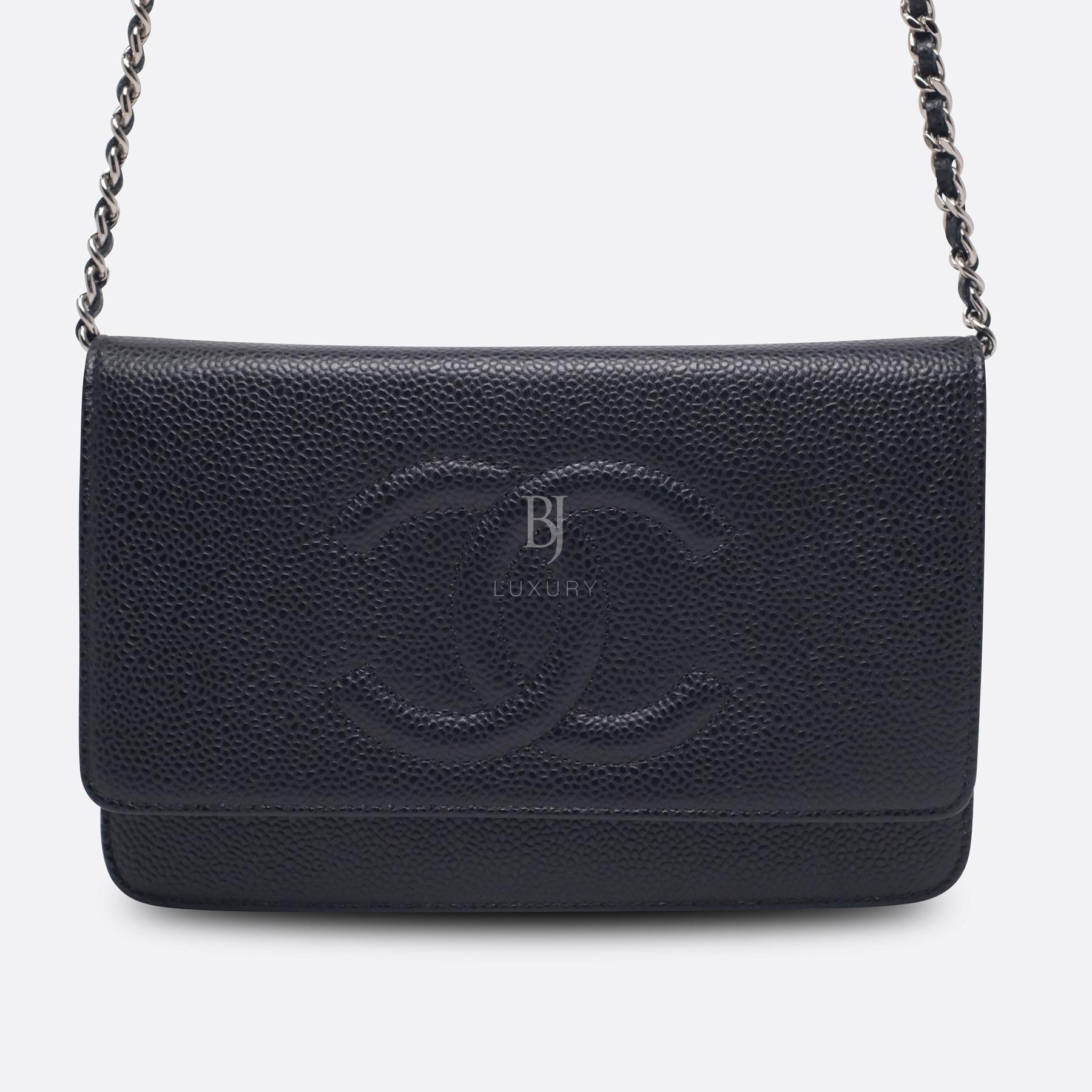 Chanel Wallet on Chain Caviar Silver Black BJ Luxury 1.jpg