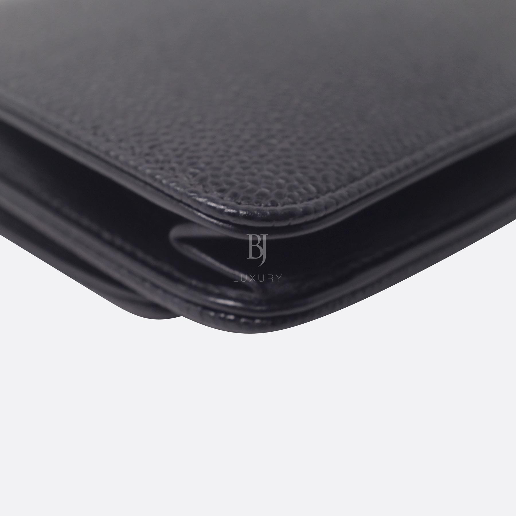 Chanel Wallet on Chain Caviar Silver Black BJ Luxury 10.jpg