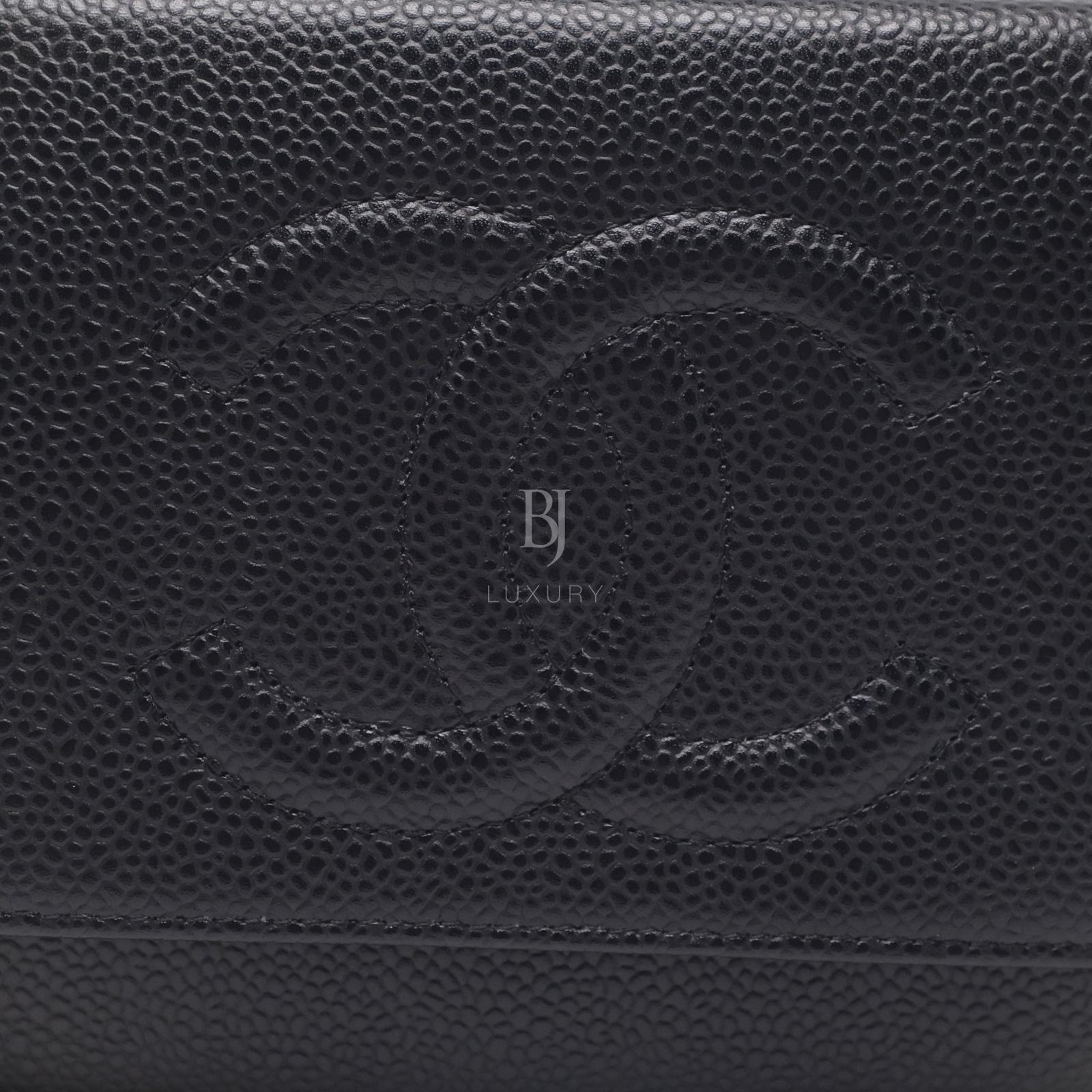 Chanel Wallet on Chain Caviar Silver Black BJ Luxury 11.jpg