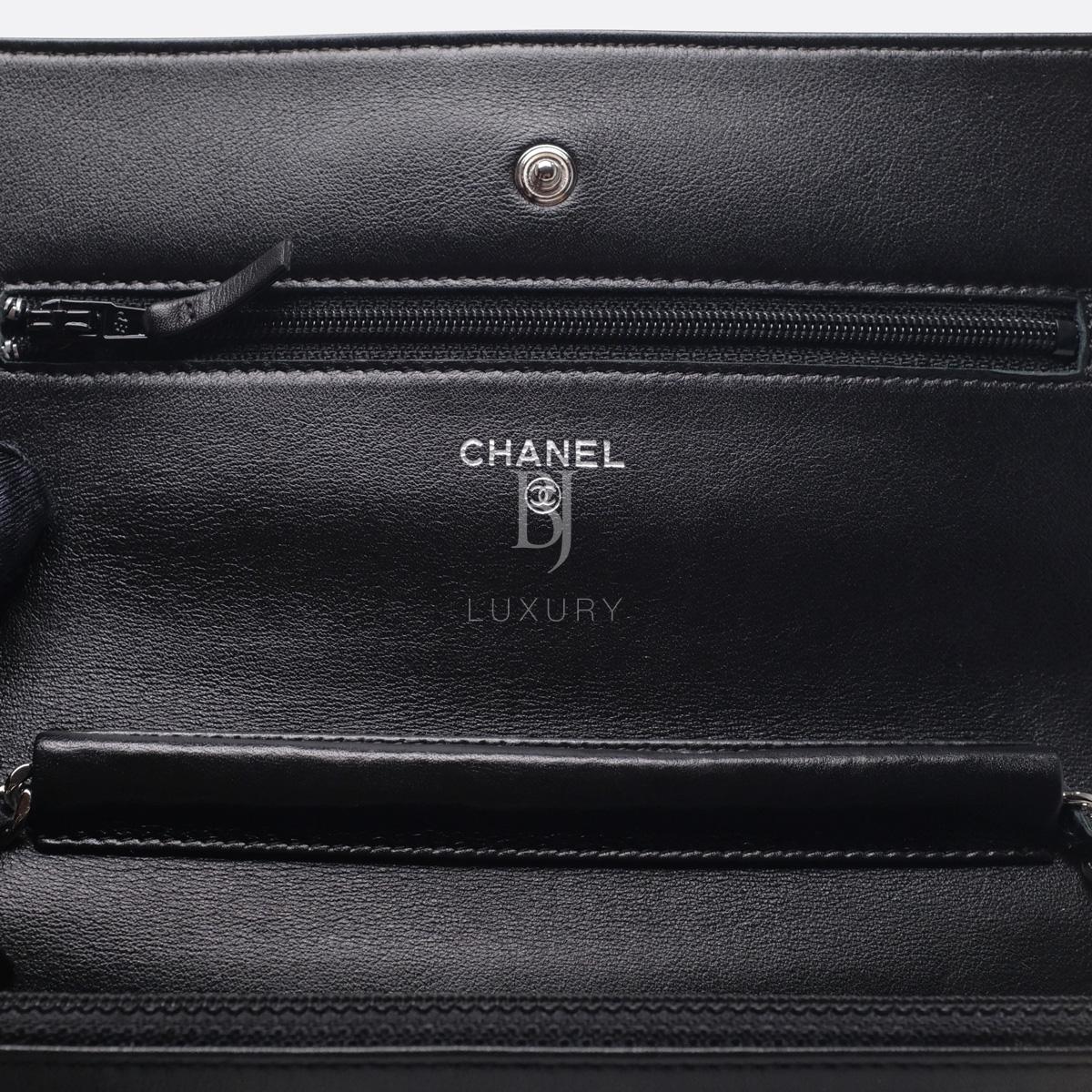 Chanel Wallet on Chain Caviar Silver Black BJ Luxury 12.jpg
