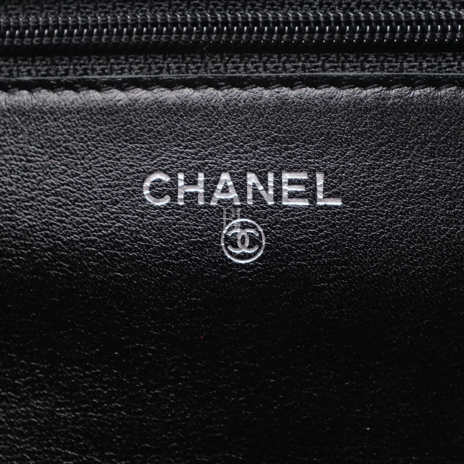 Chanel Wallet on Chain Caviar Silver Black BJ Luxury 13.jpg