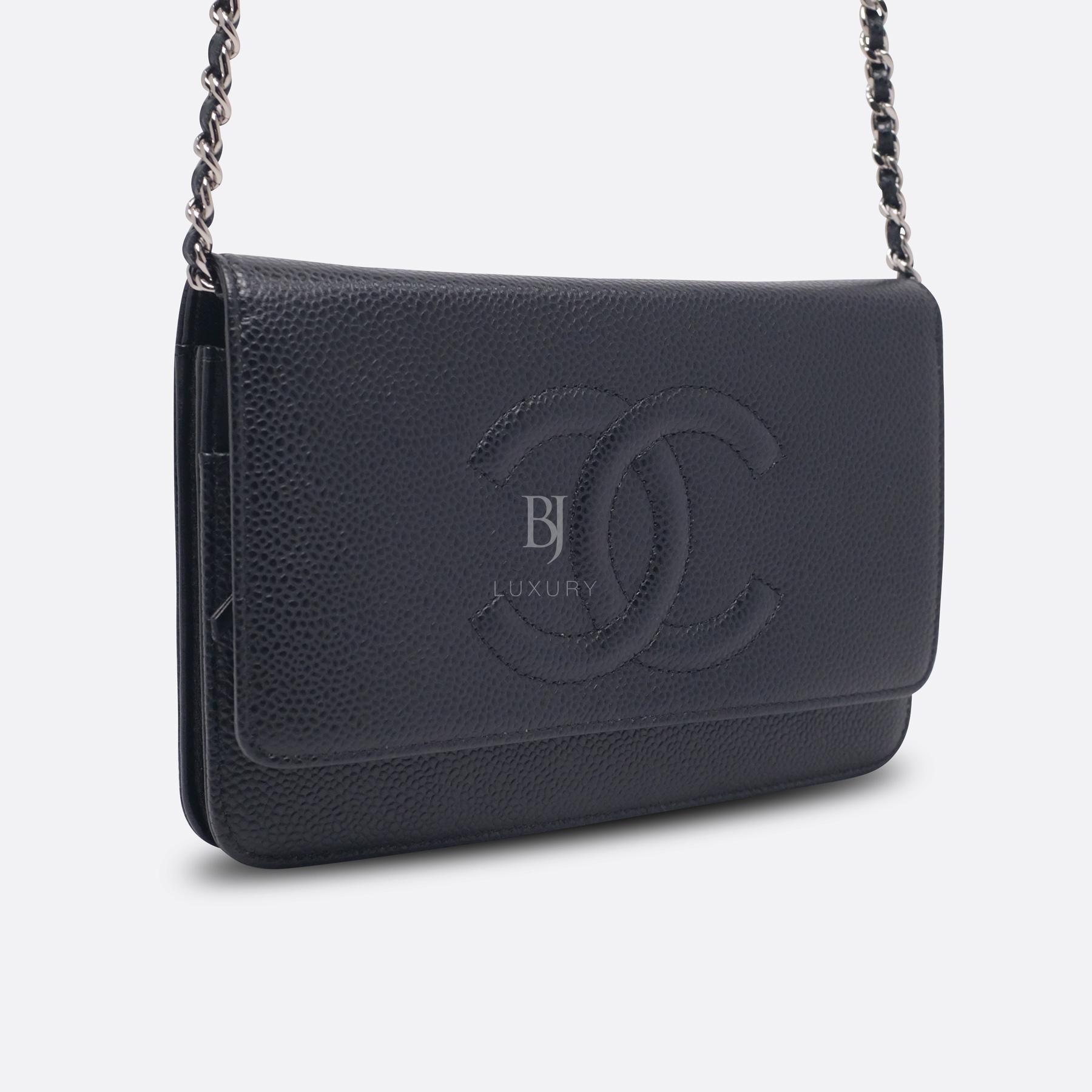 Chanel Wallet on Chain Caviar Silver Black BJ Luxury 2.jpg