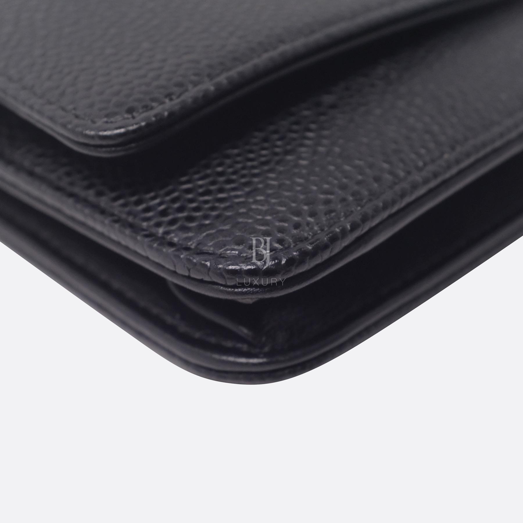 Chanel Wallet on Chain Caviar Silver Black BJ Luxury 7.jpg