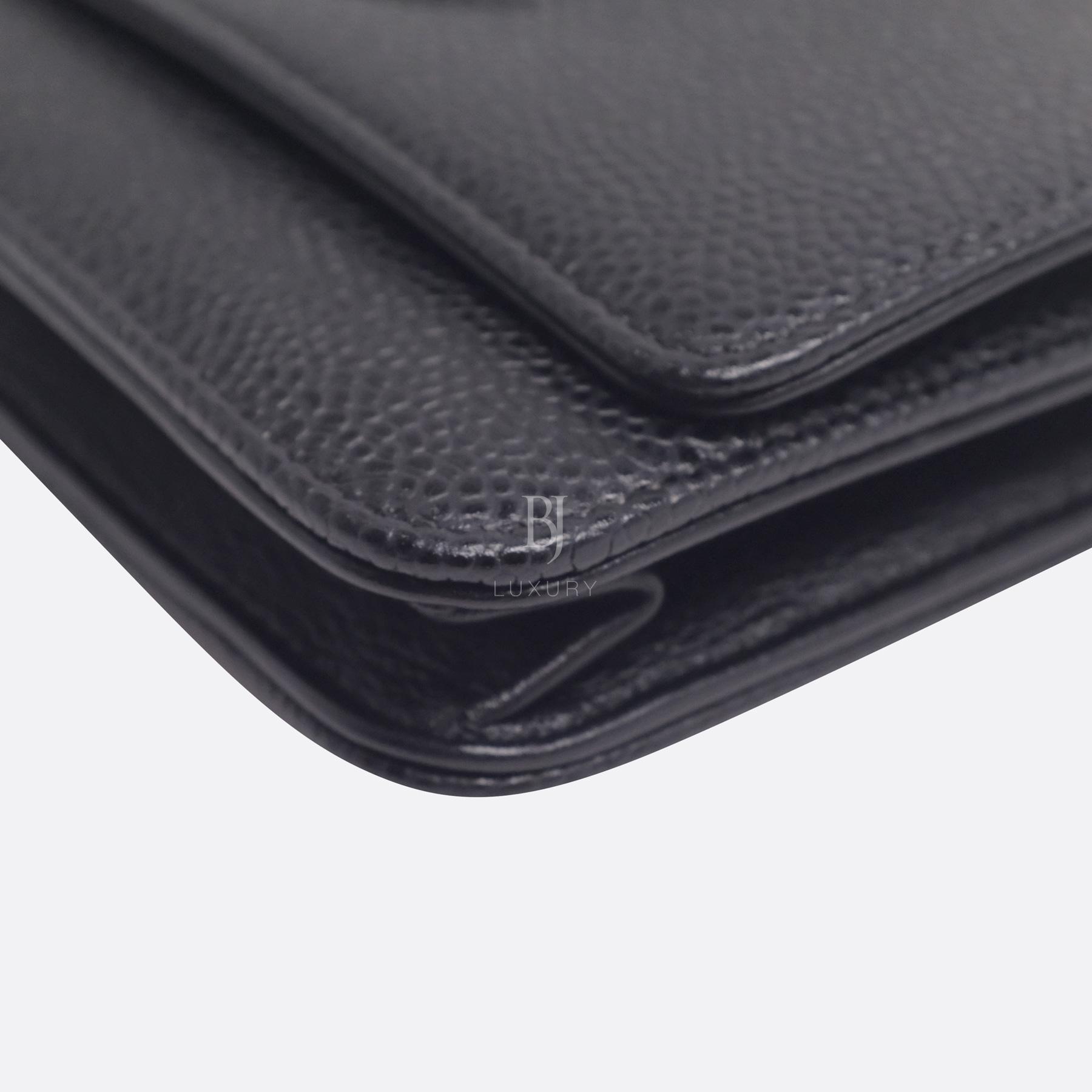 Chanel Wallet on Chain Caviar Silver Black BJ Luxury 8.jpg