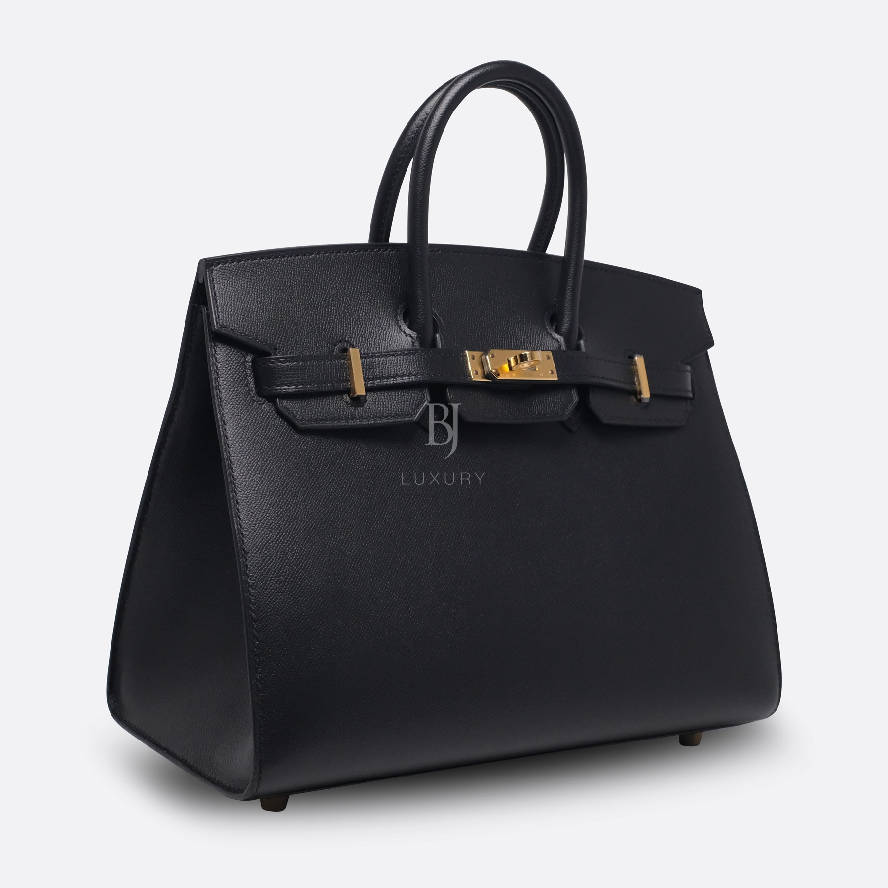 Birkin Sellier 25 Black Veau Madame Gold BJ Luxury 10.jpg