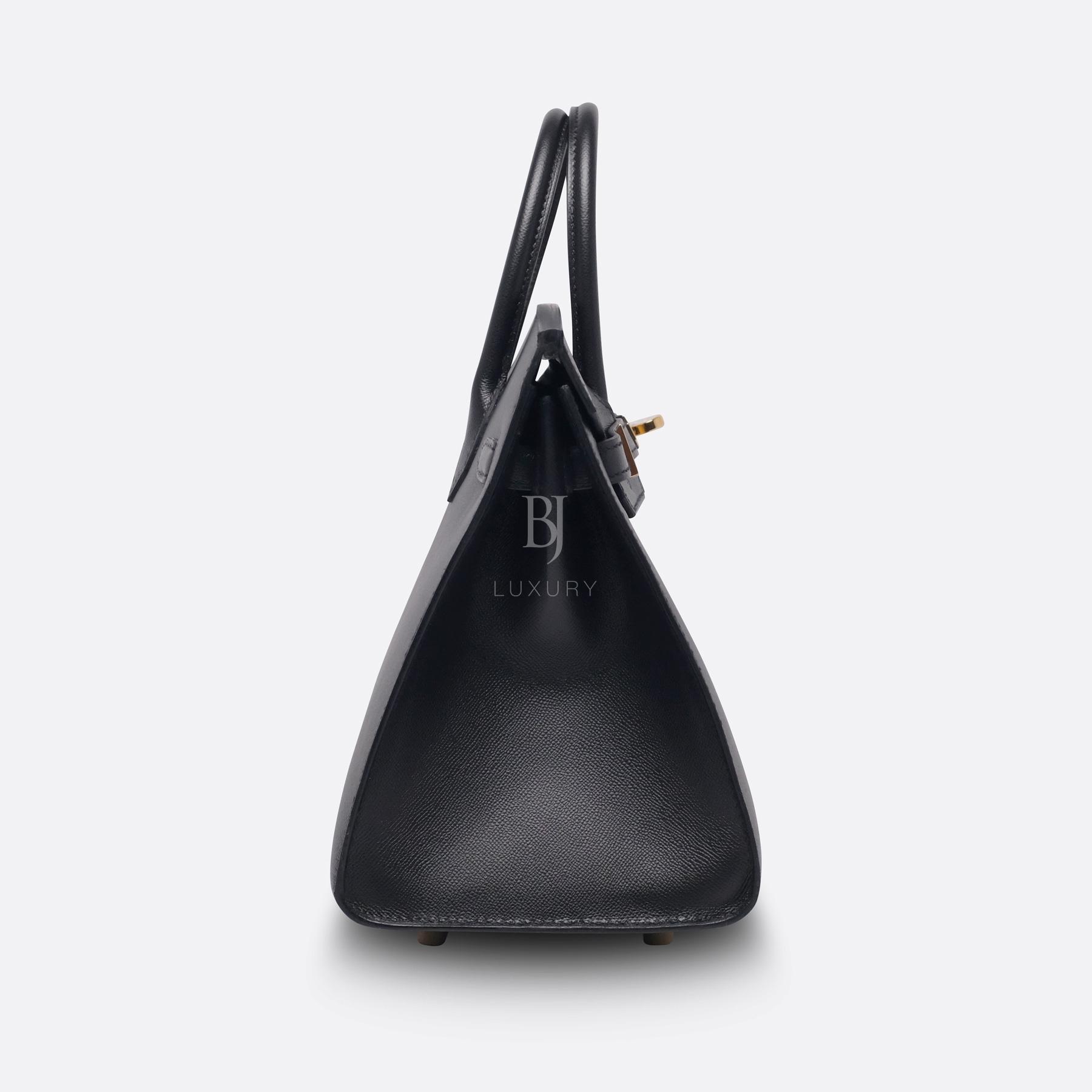 Birkin Sellier 25 Black Veau Madame Gold BJ Luxury 11.jpg