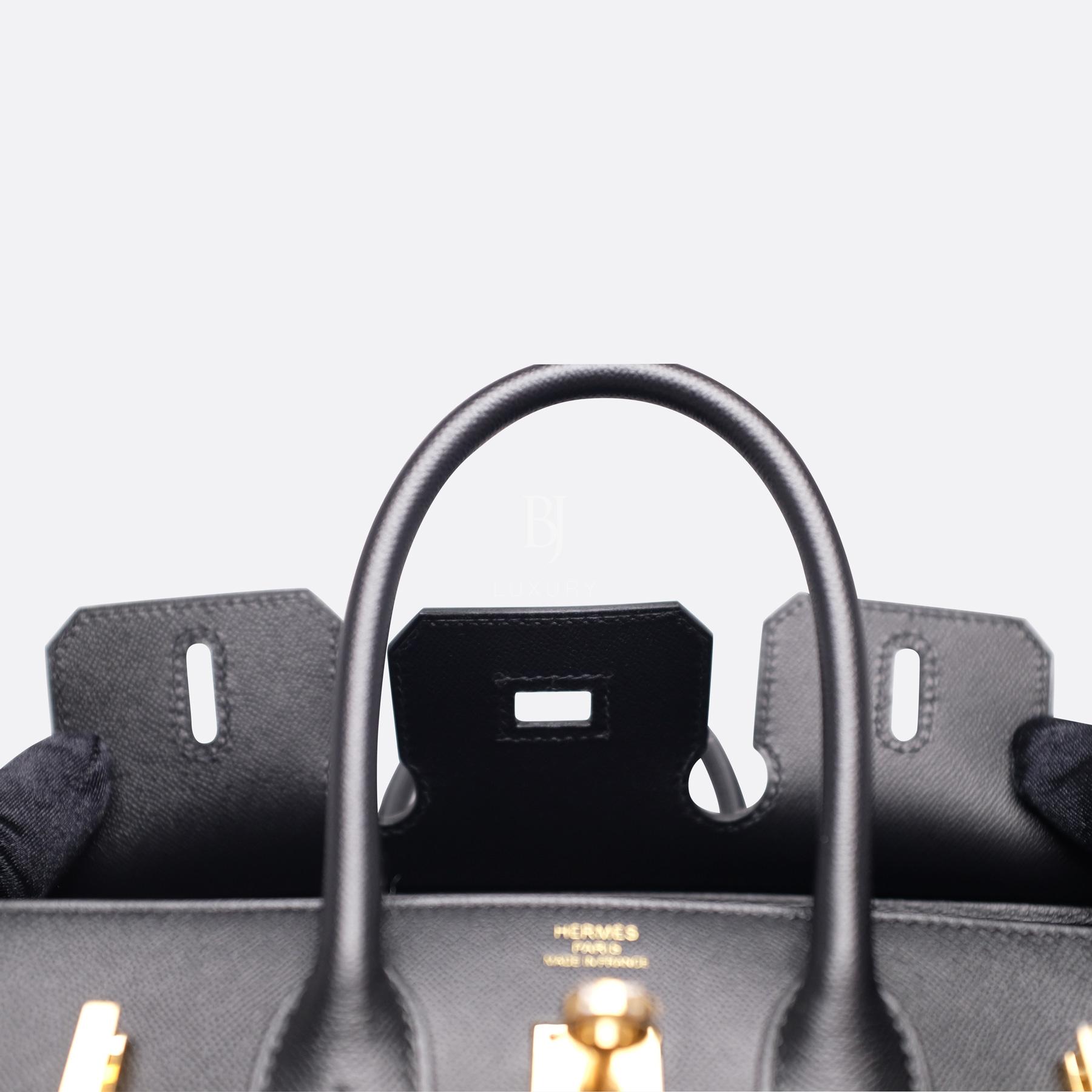 Birkin Sellier 25 Black Veau Madame Gold BJ Luxury 6.jpg
