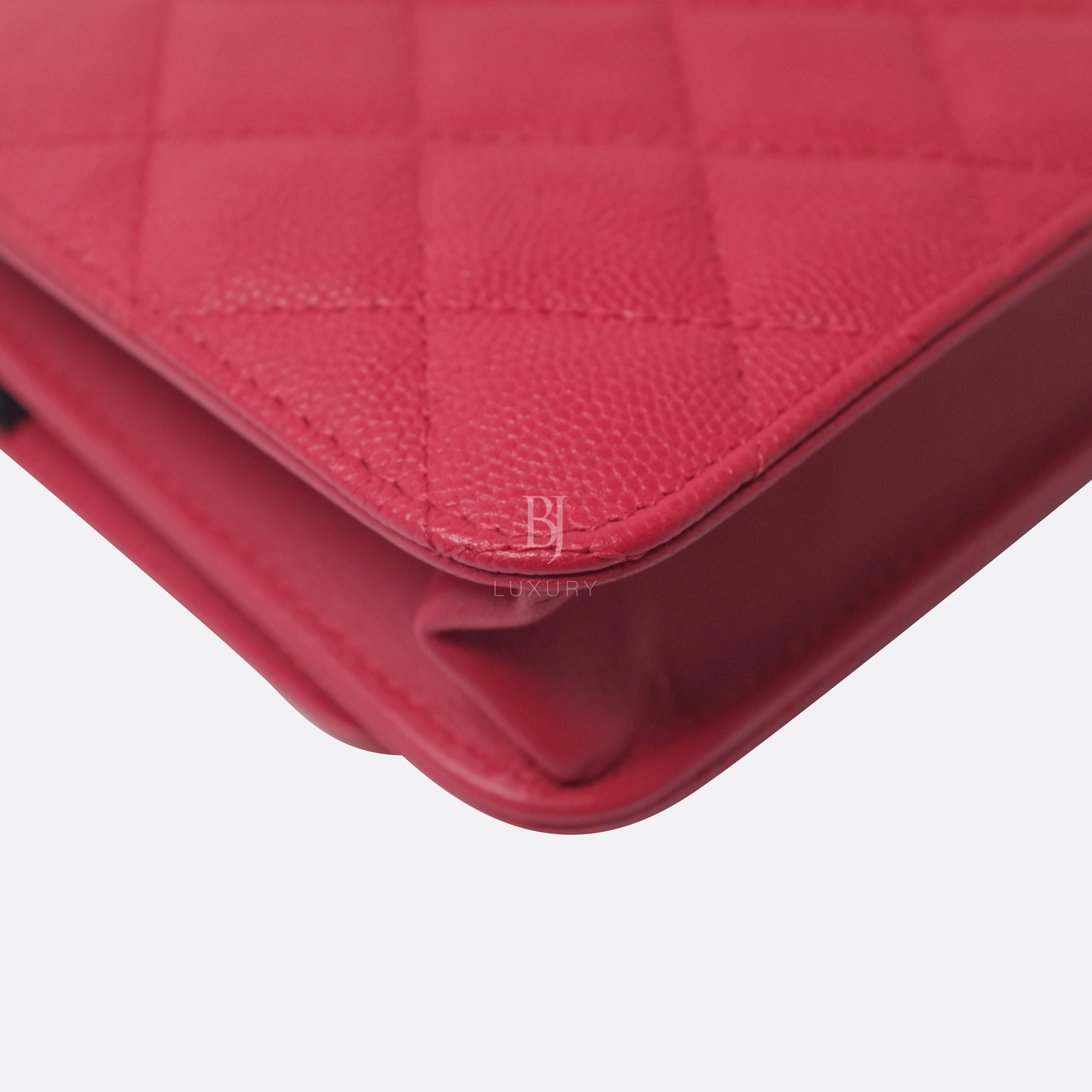Chanel Wallet On Chain Red Caviar Brushed Gold BJ Luxury 10.jpg