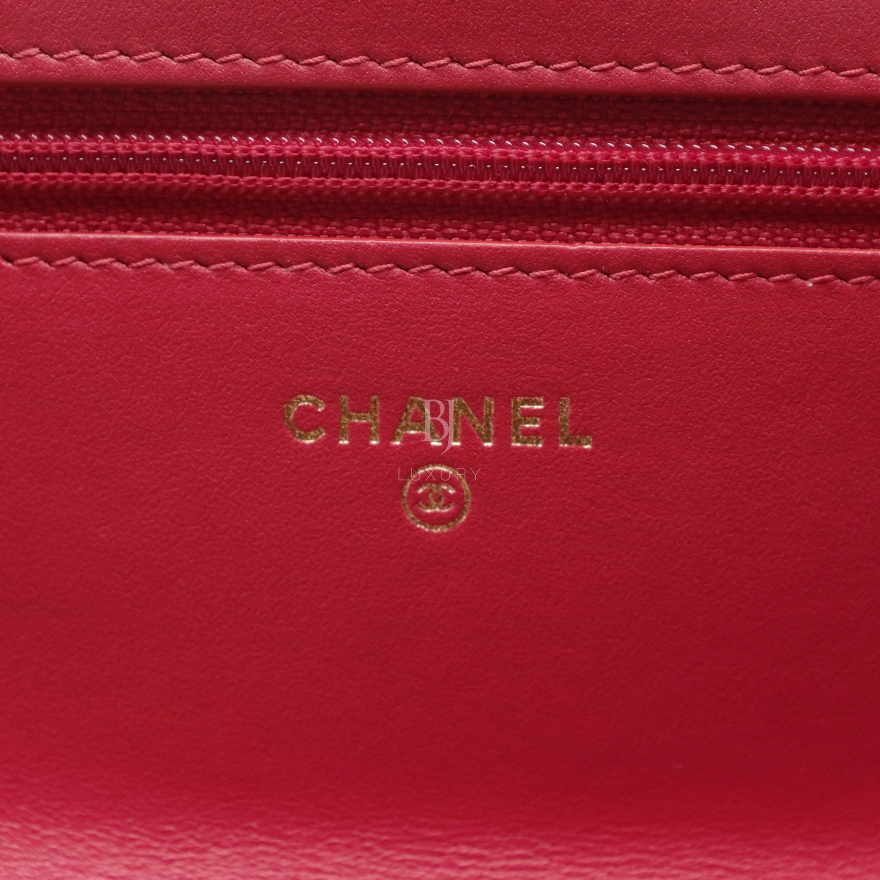 Chanel Wallet On Chain Red Caviar Brushed Gold BJ Luxury 13.jpg