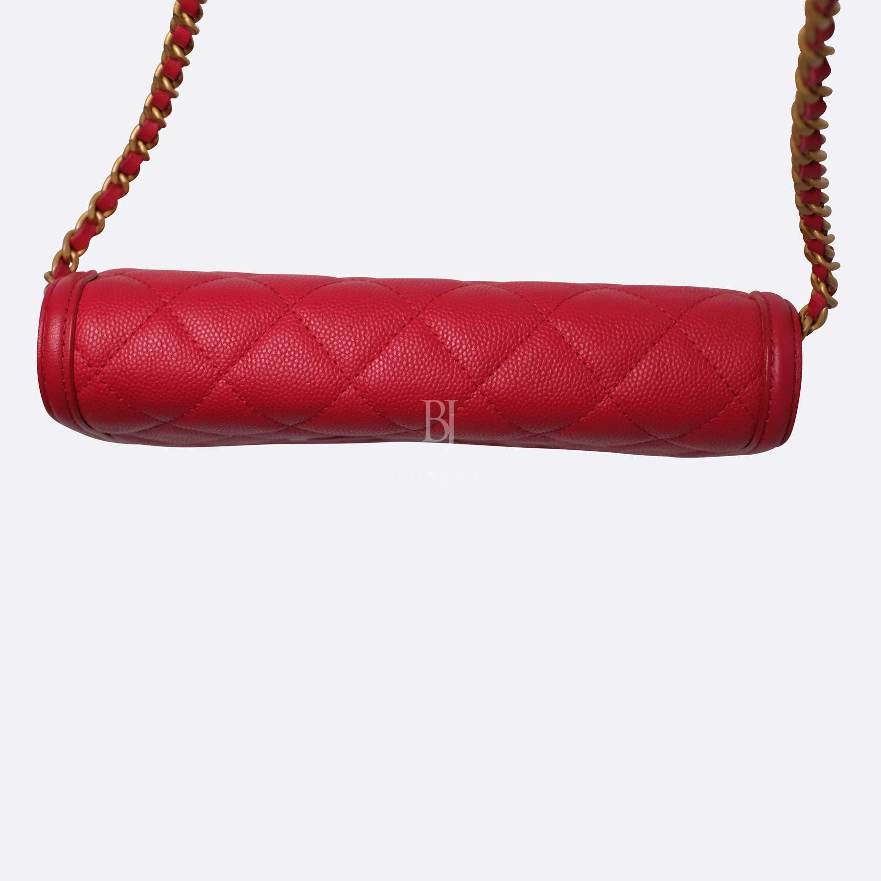 Chanel Wallet On Chain Red Caviar Brushed Gold BJ Luxury 16.jpg