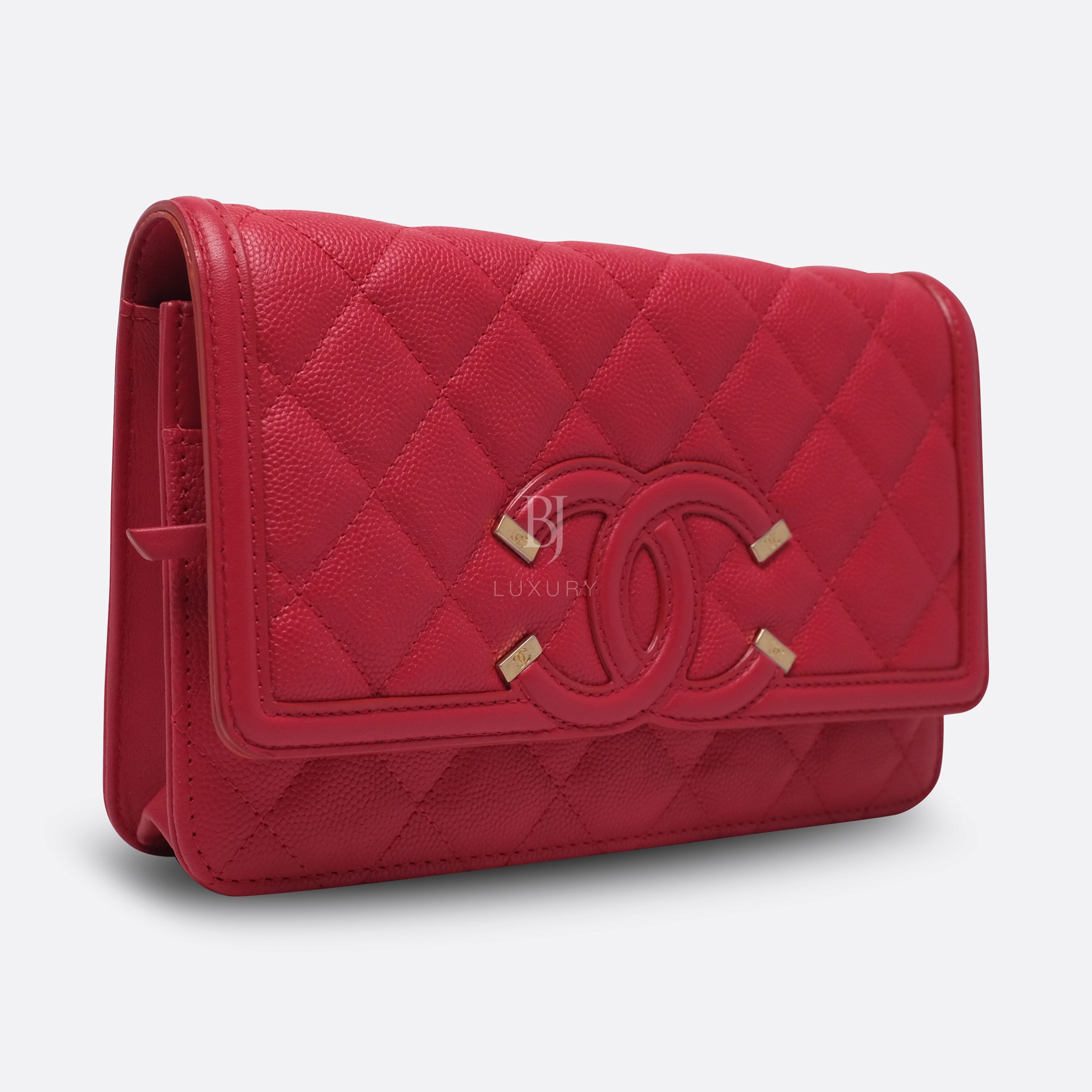 Chanel Wallet On Chain Red Caviar Brushed Gold BJ Luxury 2.jpg
