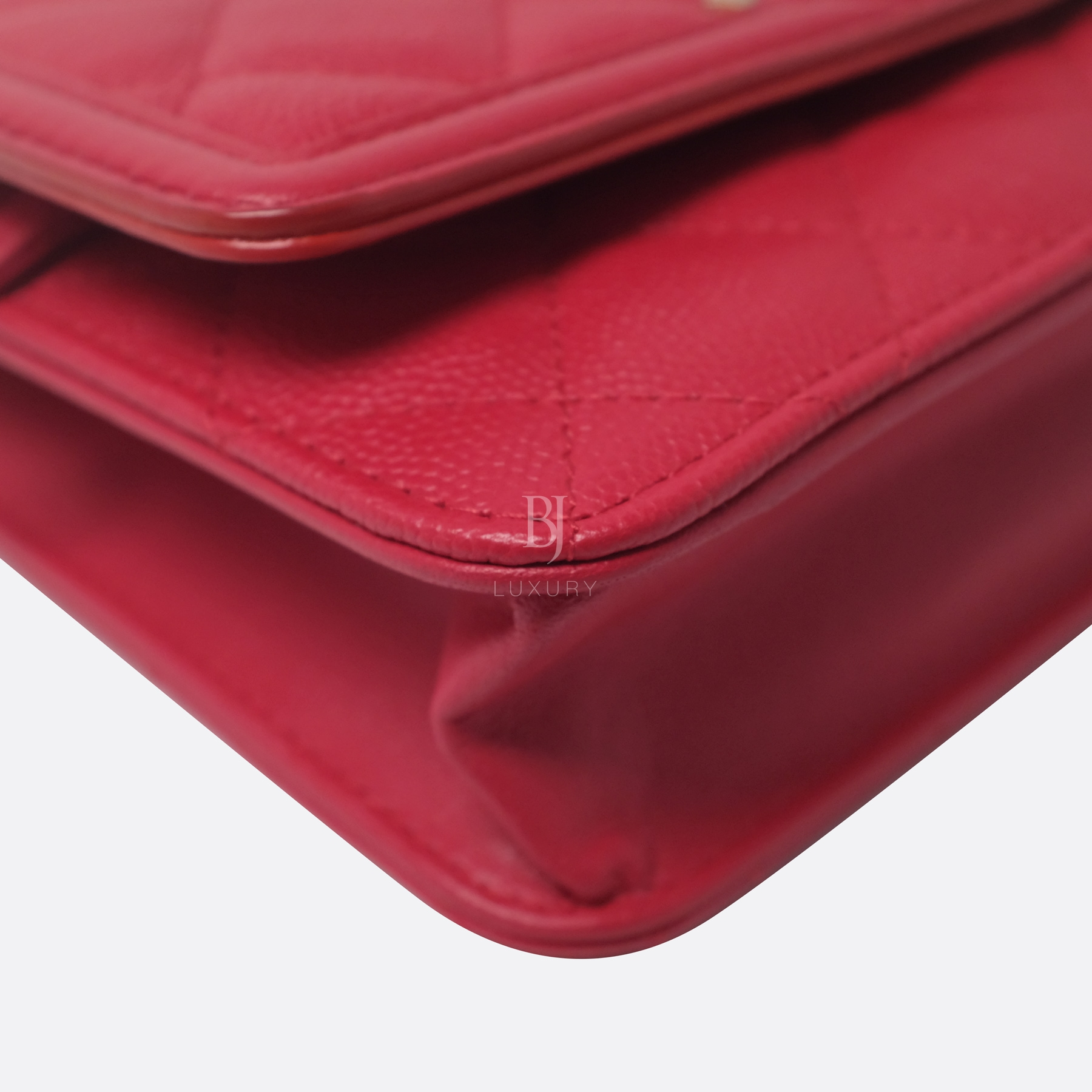 Chanel Wallet On Chain Red Caviar Brushed Gold BJ Luxury 7.jpg