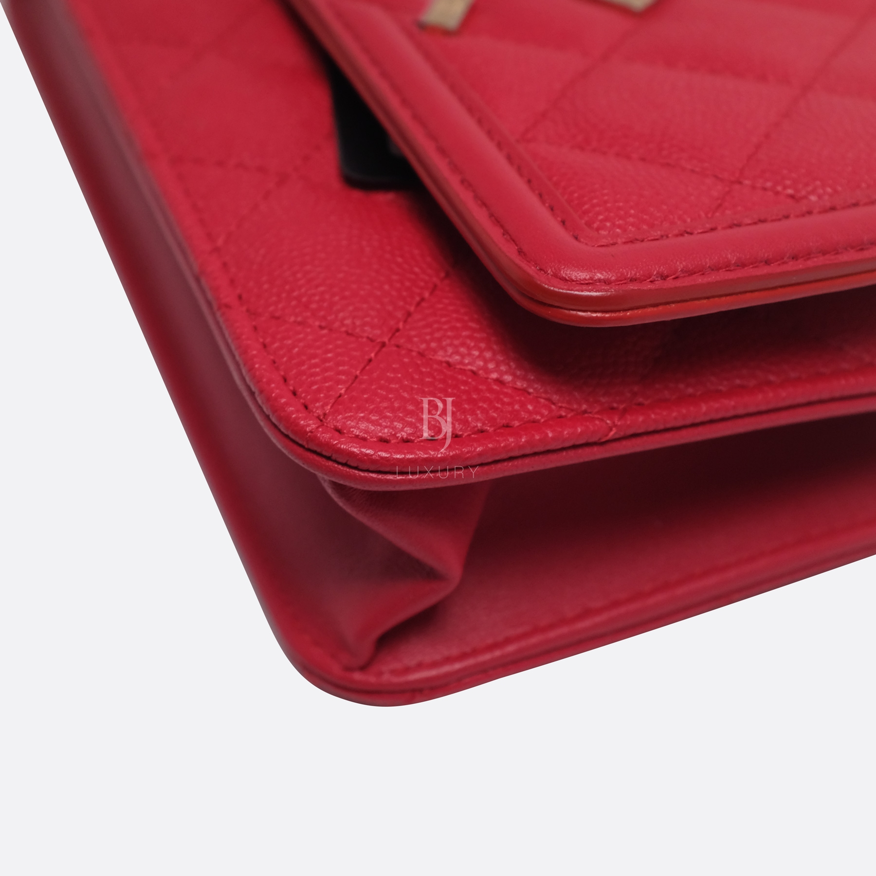 Chanel Wallet On Chain Red Caviar Brushed Gold BJ Luxury 8.jpg