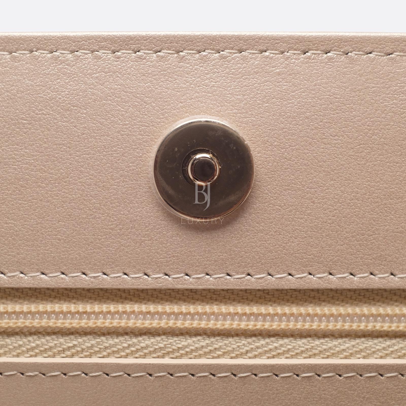 Chanel Wallet on Chain Mini Lambskin Light Gold BJ Luxury 14.jpg