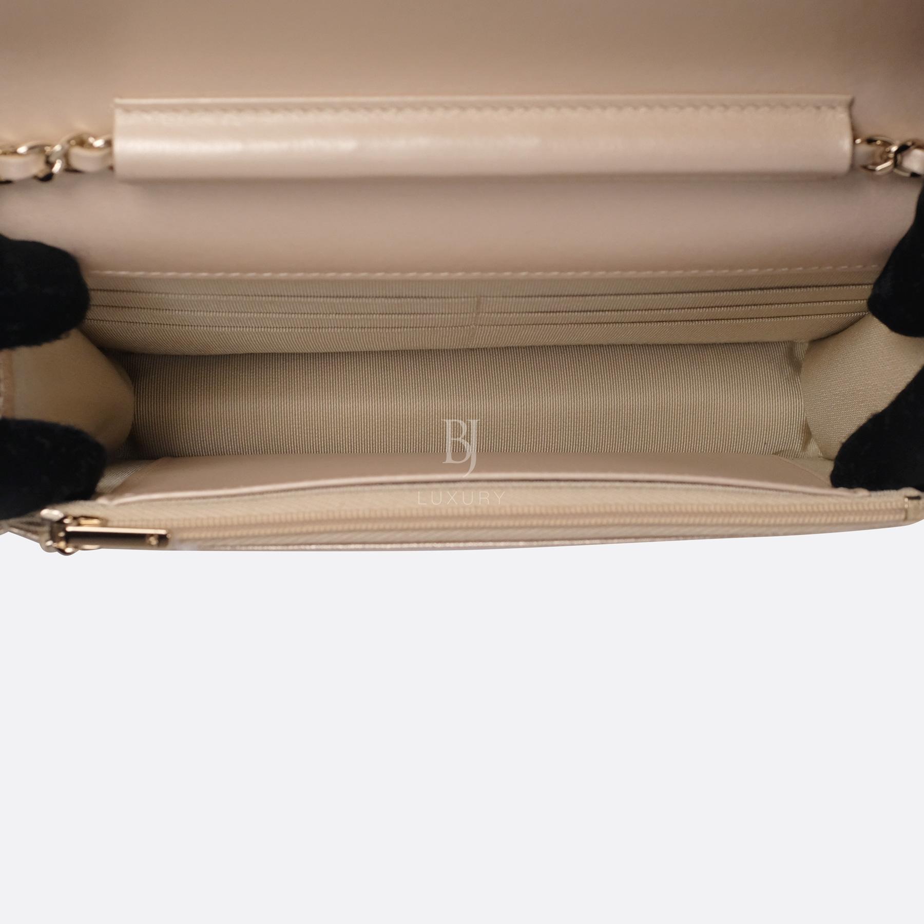 Chanel Wallet on Chain Mini Lambskin Light Gold BJ Luxury 16.jpg