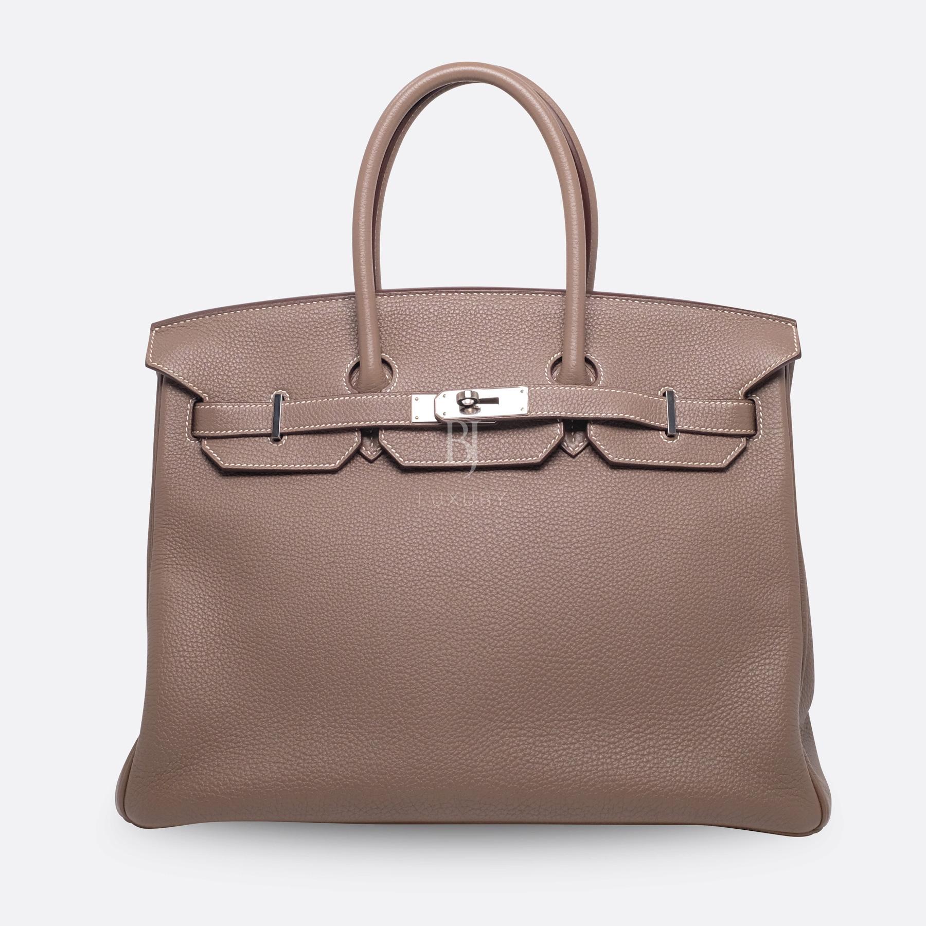 Hemes Birkin 35 Etoupe Palladium Togo BJ Luxury 1.jpg