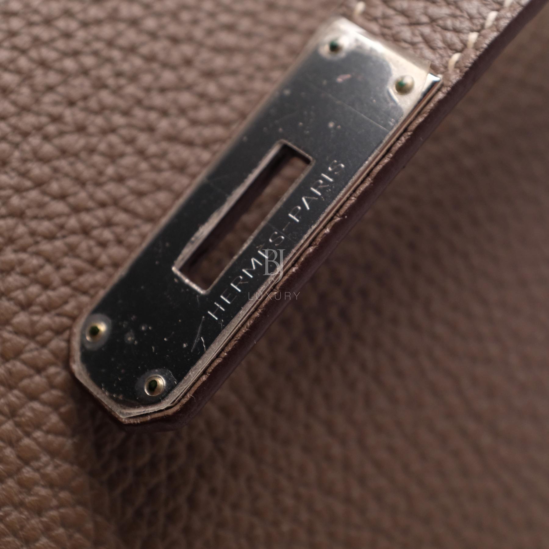 Hemes Birkin 35 Etoupe Palladium Togo BJ Luxury 11.jpg