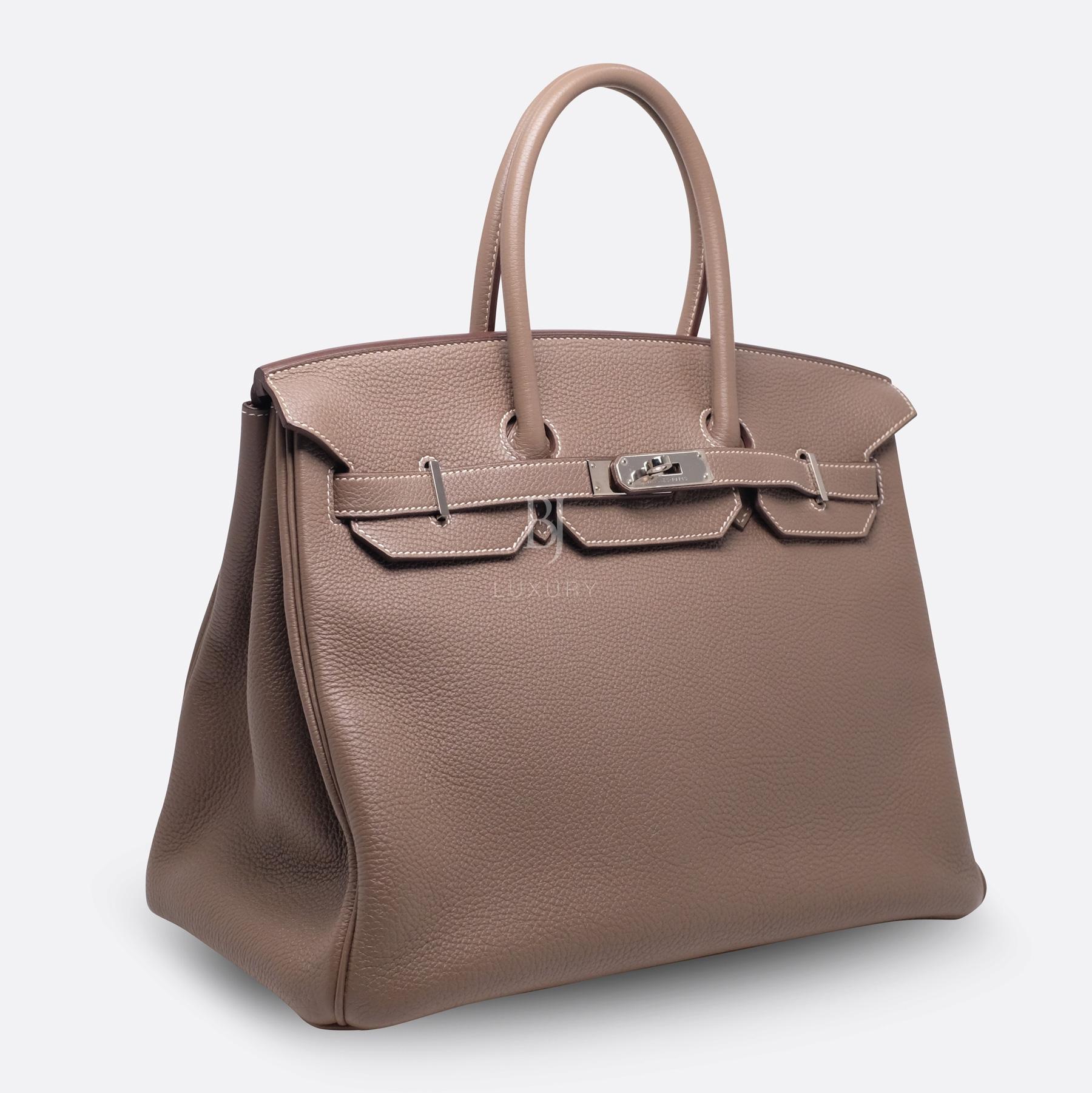 Hemes Birkin 35 Etoupe Palladium Togo BJ Luxury 2.jpg