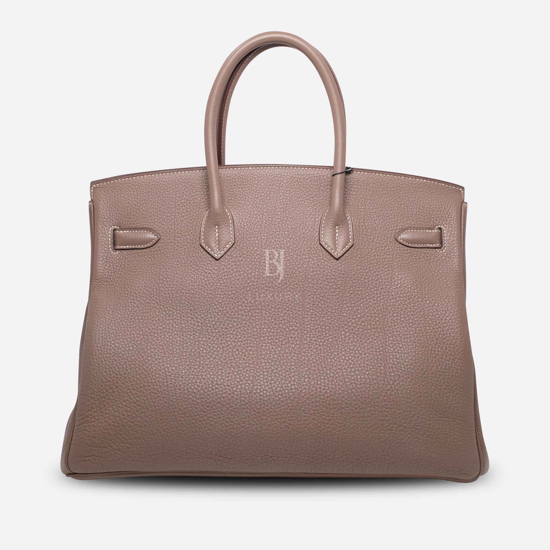 Hemes Birkin 35 Etoupe Palladium Togo BJ Luxury 4.jpg