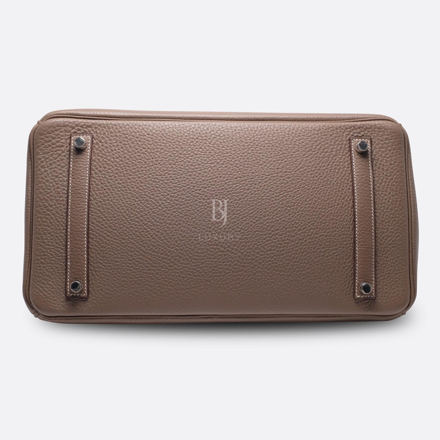 Hemes Birkin 35 Etoupe Palladium Togo BJ Luxury 6.jpg