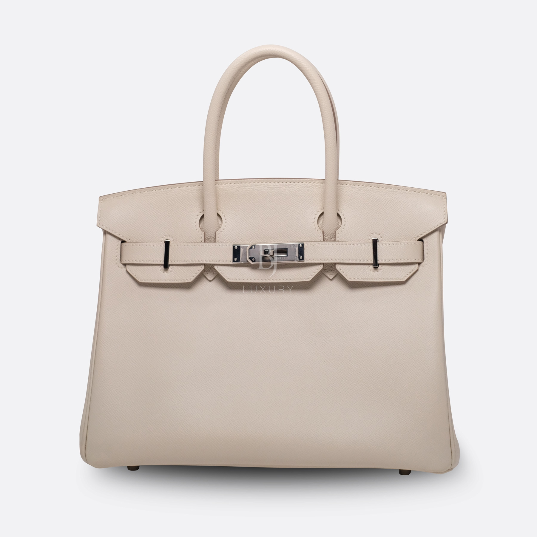 Hermes Birkin 30 Epsom Craie Palladium BJ Luxury 7.jpg