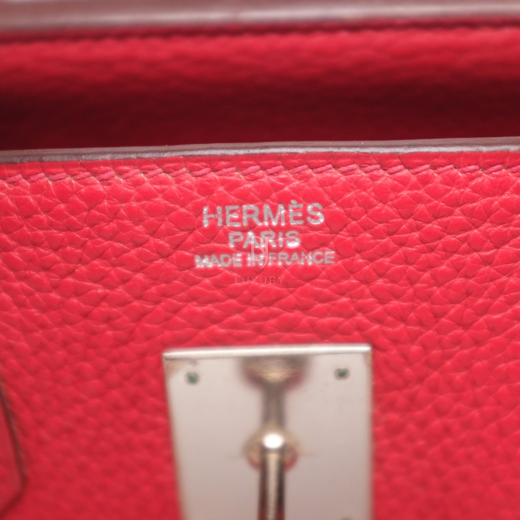 Hermes Birkin 30 Rouge Casaque Clemence Palladium BJ Luxury 1.jpg