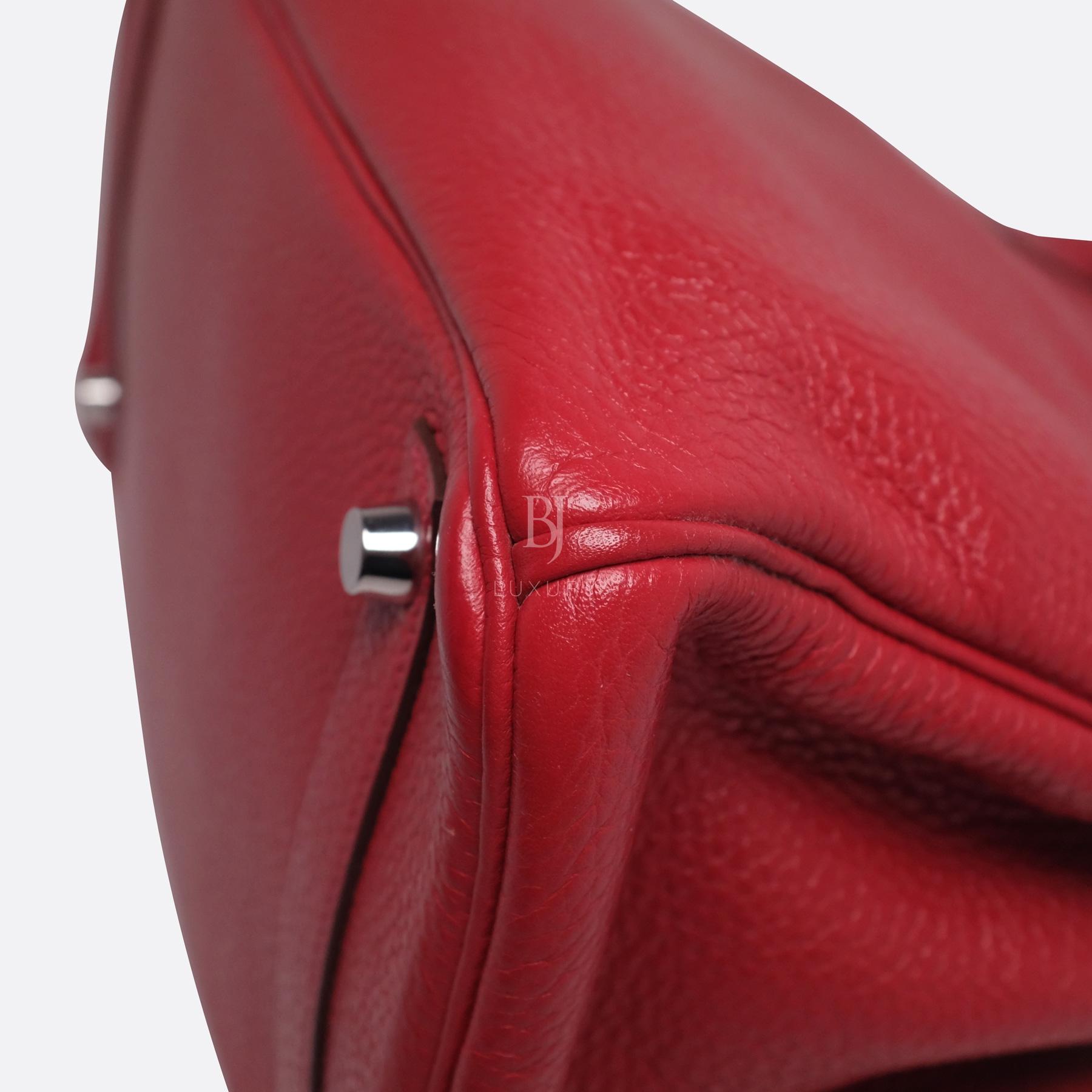 Hermes Birkin 30 Rouge Casaque Clemence Palladium BJ Luxury 18.jpg