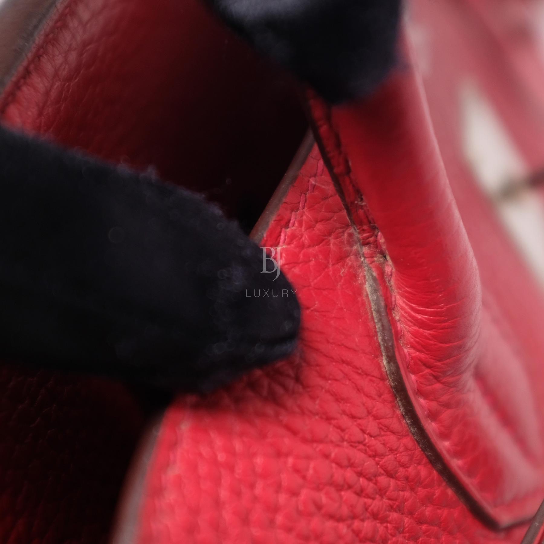 Hermes Birkin 30 Rouge Casaque Clemence Palladium BJ Luxury 5.jpg