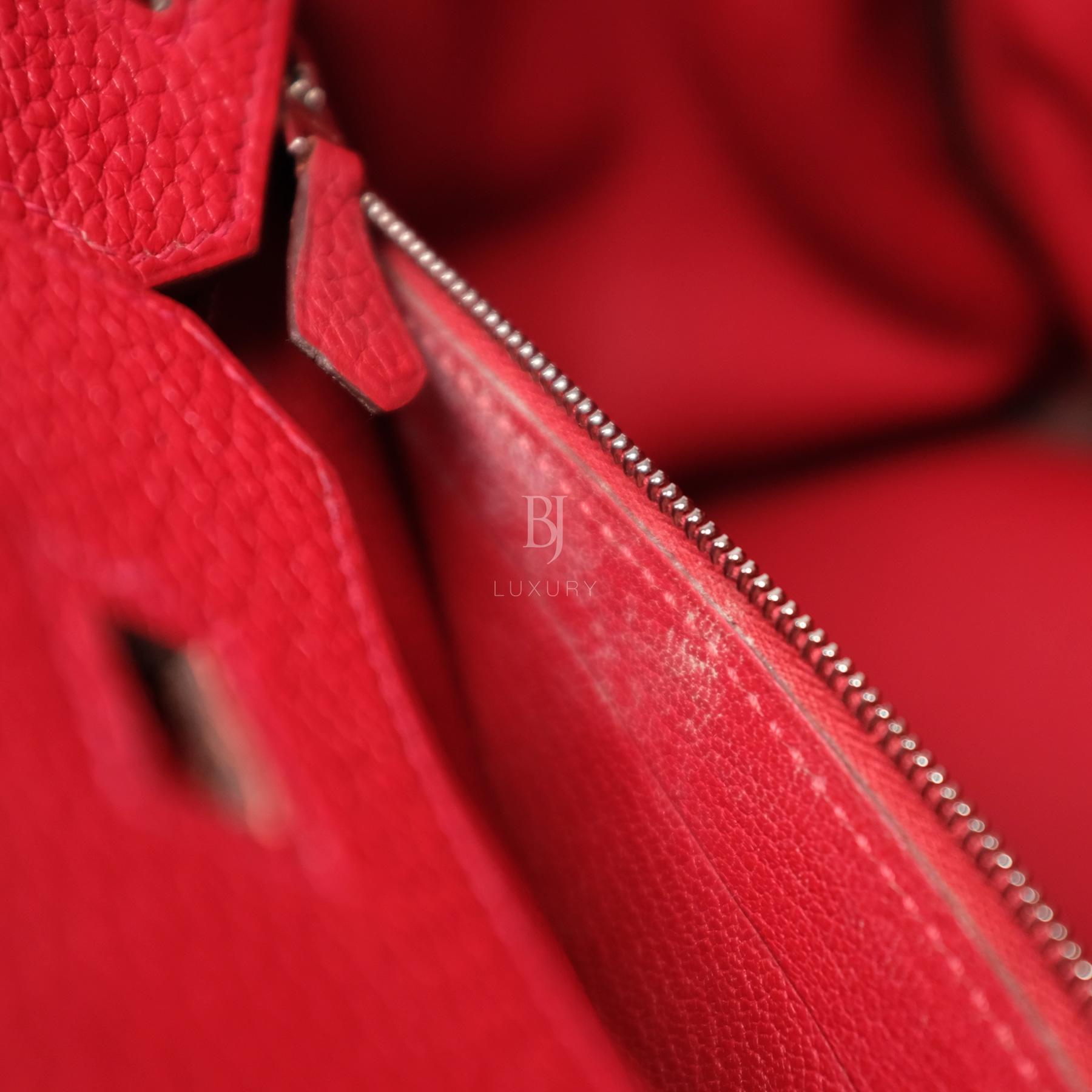 Hermes Birkin 30 Rouge Casaque Clemence Palladium BJ Luxury 8.jpg