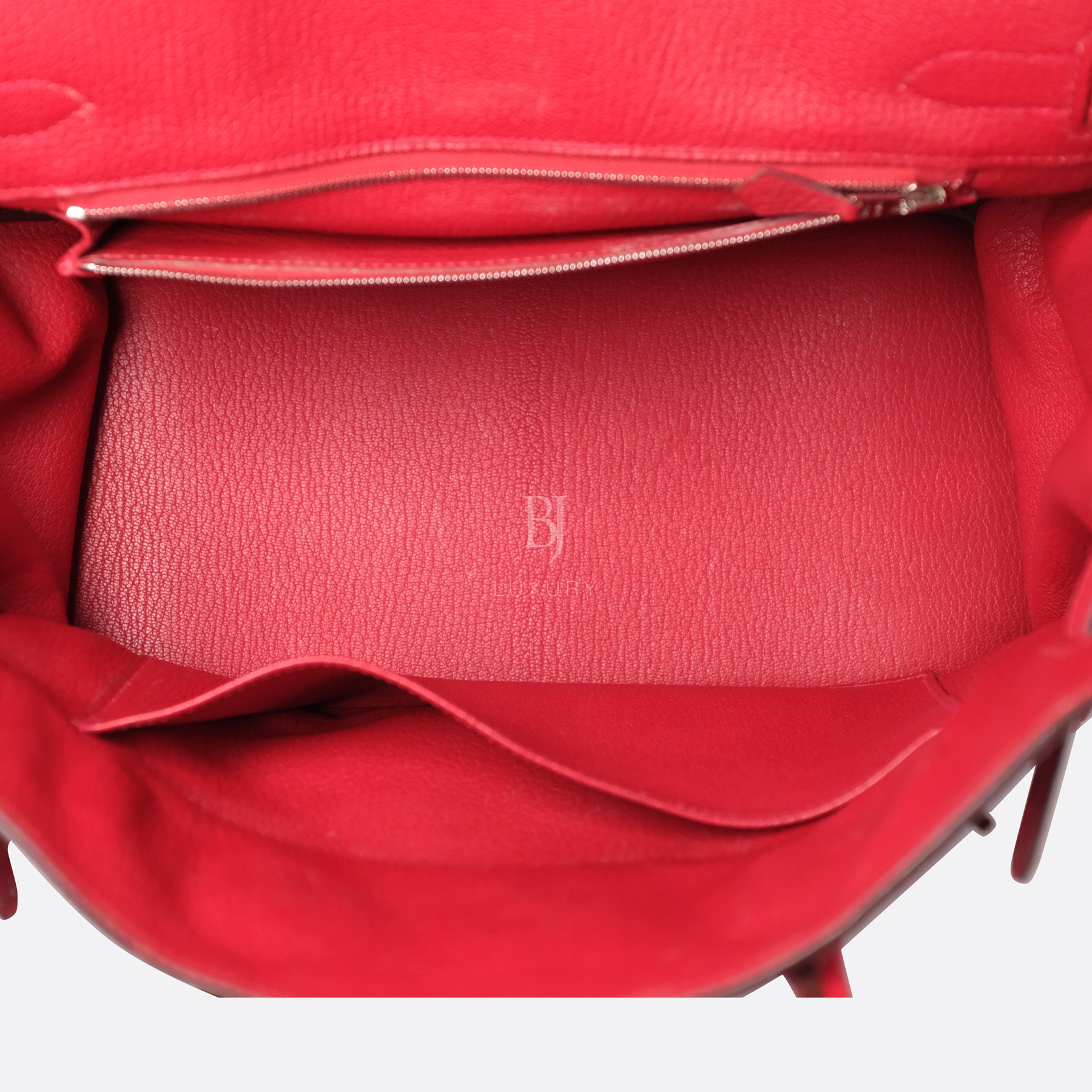 Hermes Birkin 30 Rouge Casaque Clemence Palladium BJ Luxury 9.jpg