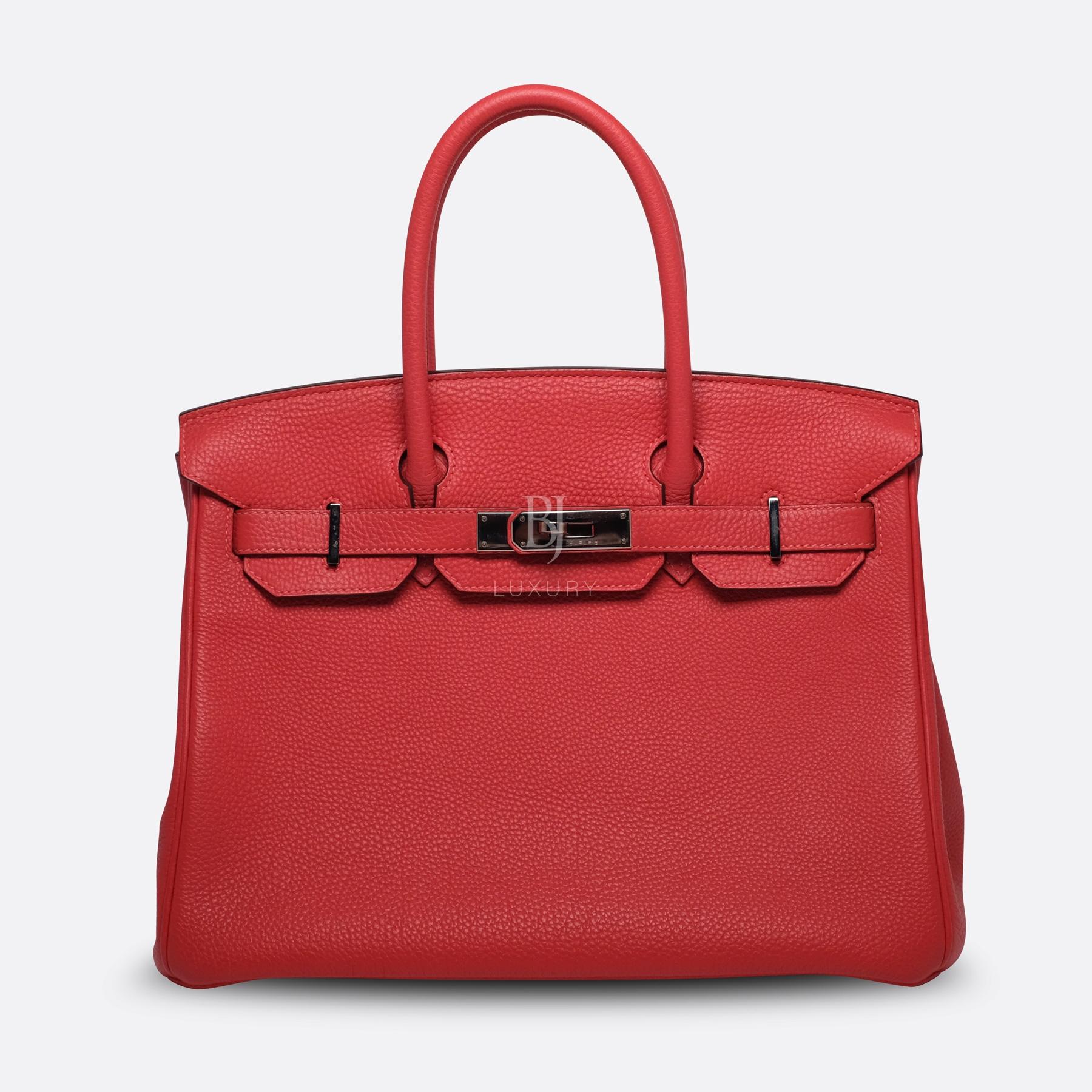 Hermes Birkin 30 Rougue Pivoine Togo Palladium BJ Luxury 10.jpg