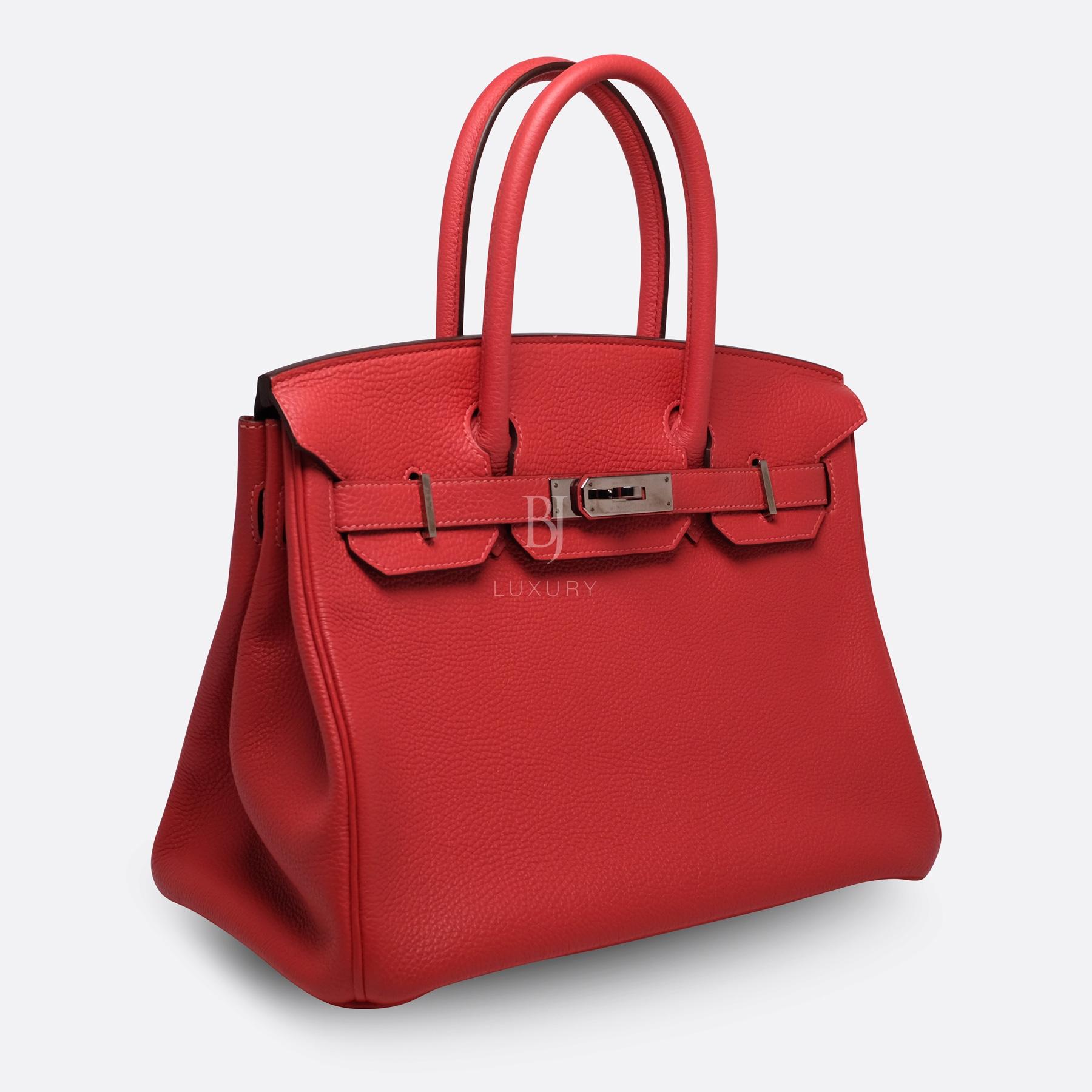 Hermes Birkin 30 Rougue Pivoine Togo Palladium BJ Luxury 11.jpg