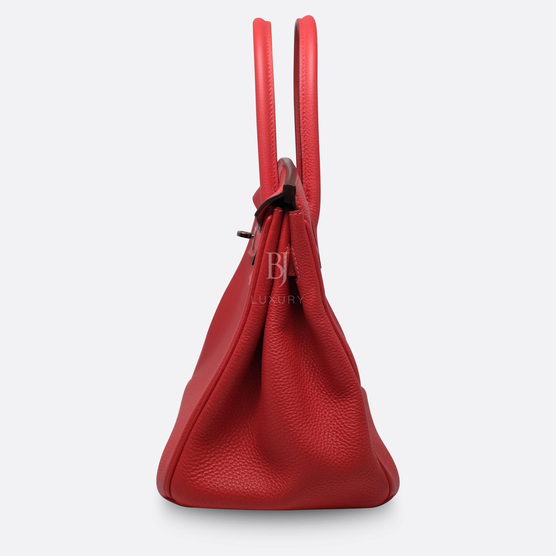 Hermes Birkin 30 Rougue Pivoine Togo Palladium BJ Luxury 14.jpg