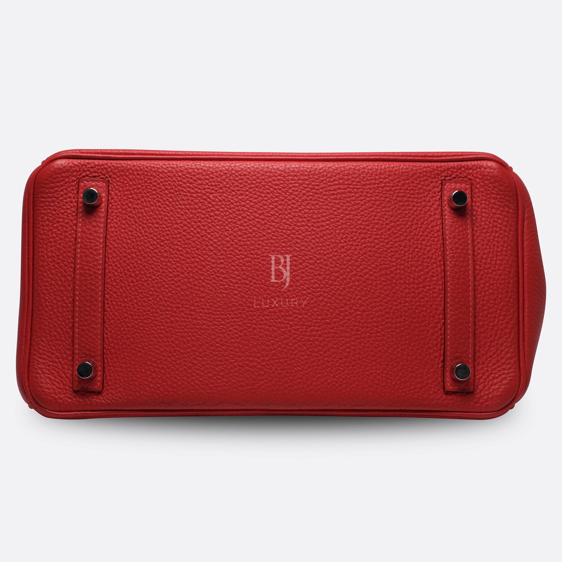 Hermes Birkin 30 Rougue Pivoine Togo Palladium BJ Luxury 15.jpg