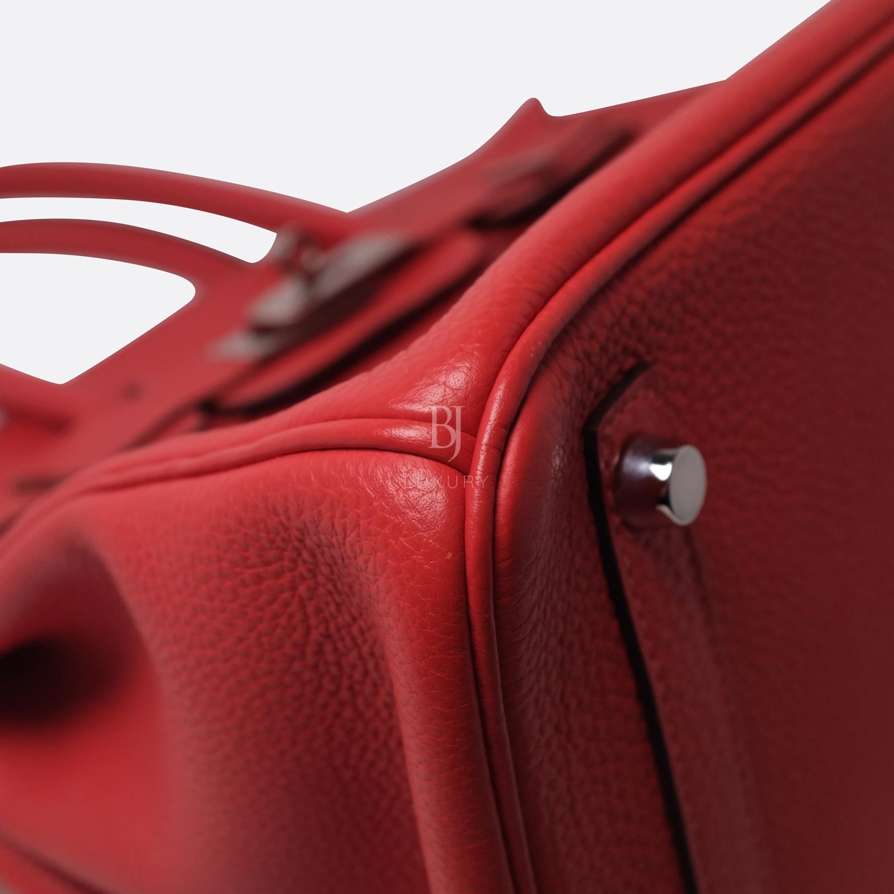 Hermes Birkin 30 Rougue Pivoine Togo Palladium BJ Luxury 16.jpg