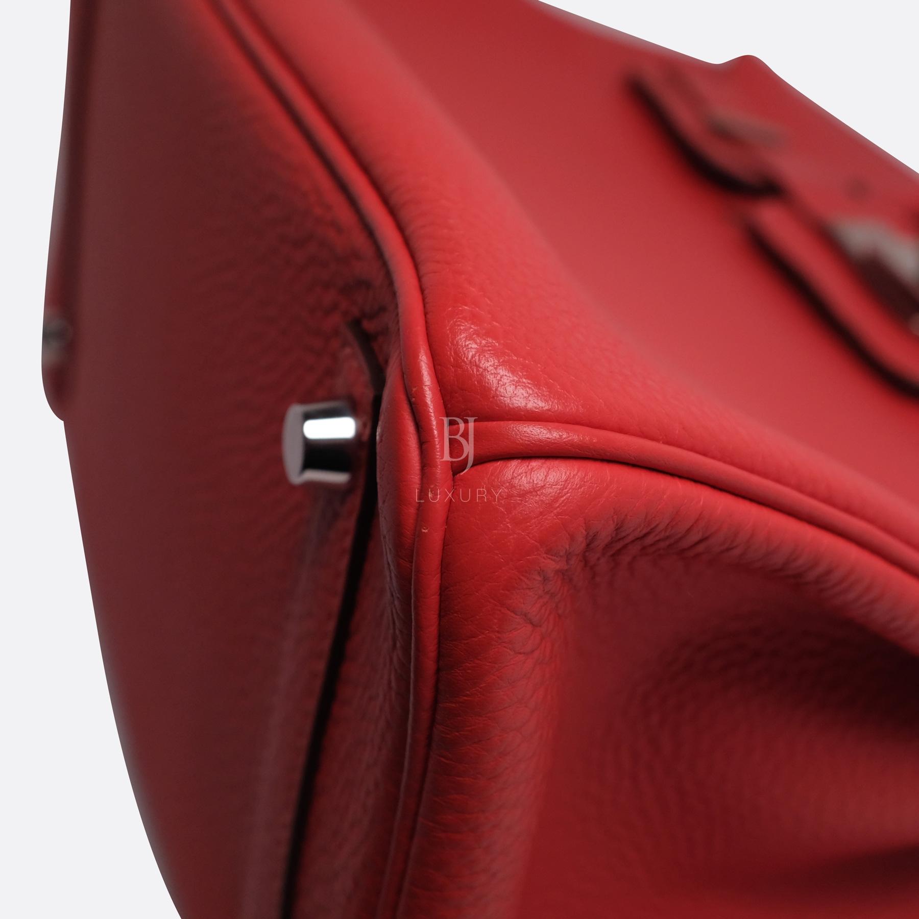 Hermes Birkin 30 Rougue Pivoine Togo Palladium BJ Luxury 17.jpg
