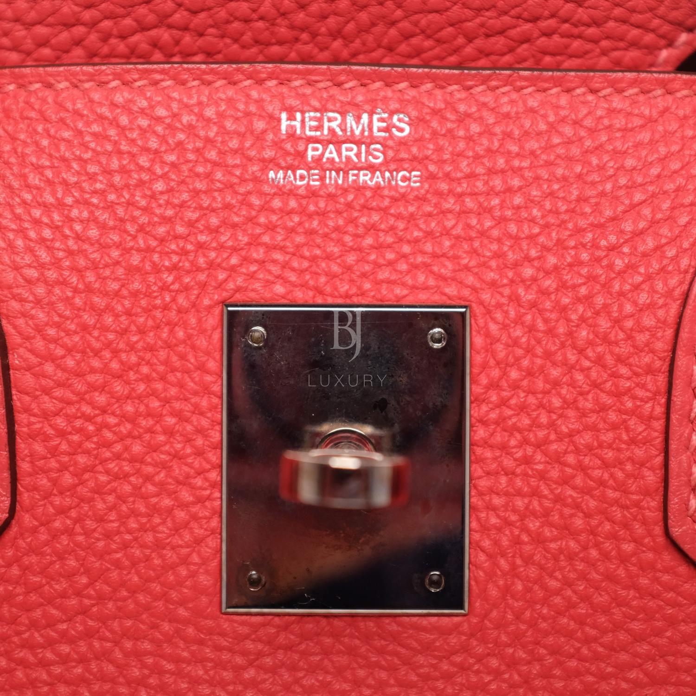 Hermes Birkin 30 Rougue Pivoine Togo Palladium BJ Luxury 2.jpg
