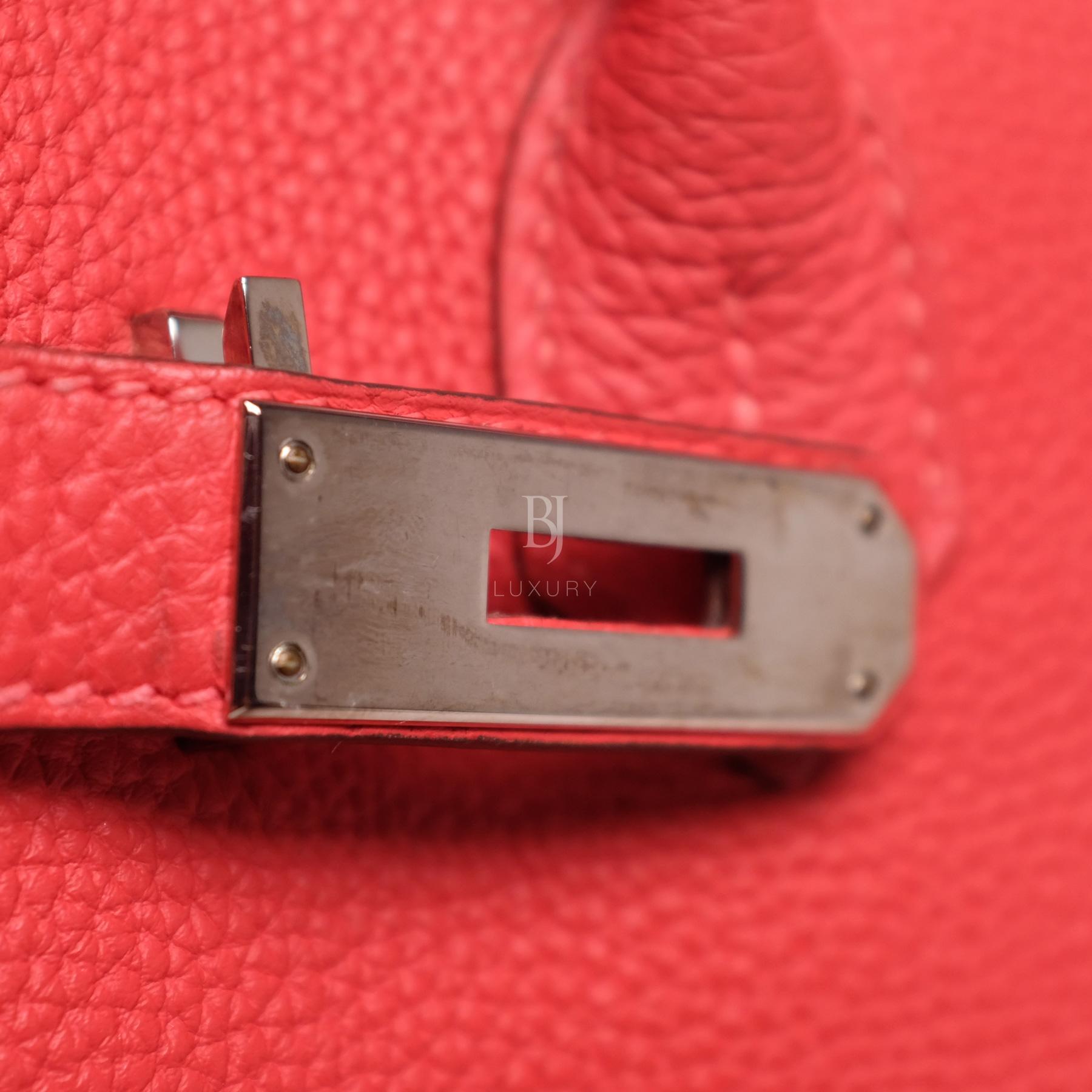 Hermes Birkin 30 Rougue Pivoine Togo Palladium BJ Luxury 4.jpg