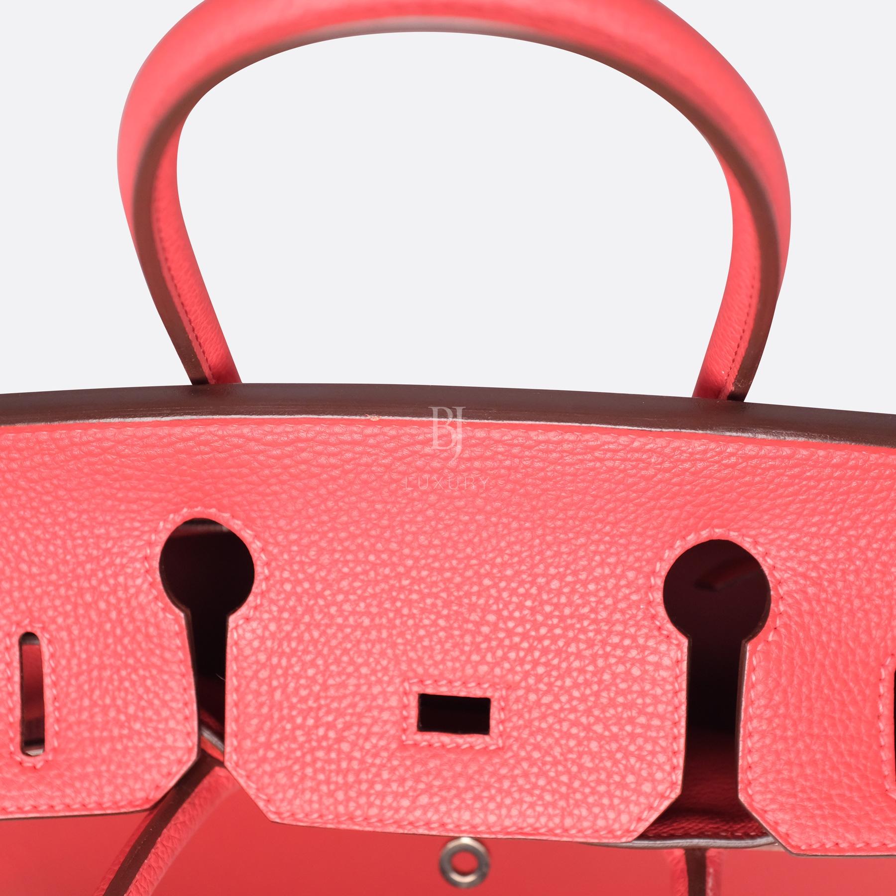 Hermes Birkin 30 Rougue Pivoine Togo Palladium BJ Luxury 5.jpg