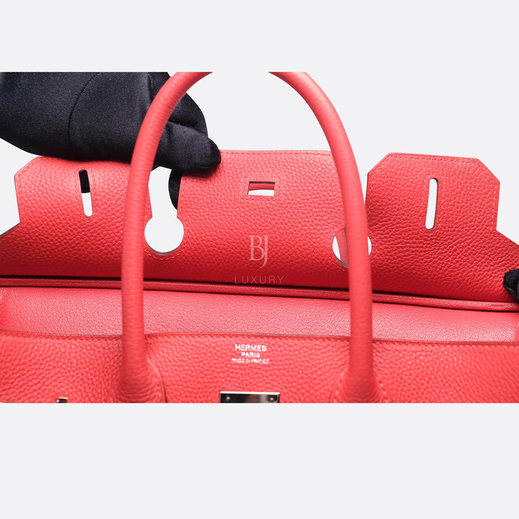 Hermes Birkin 30 Rougue Pivoine Togo Palladium BJ Luxury 6.jpg