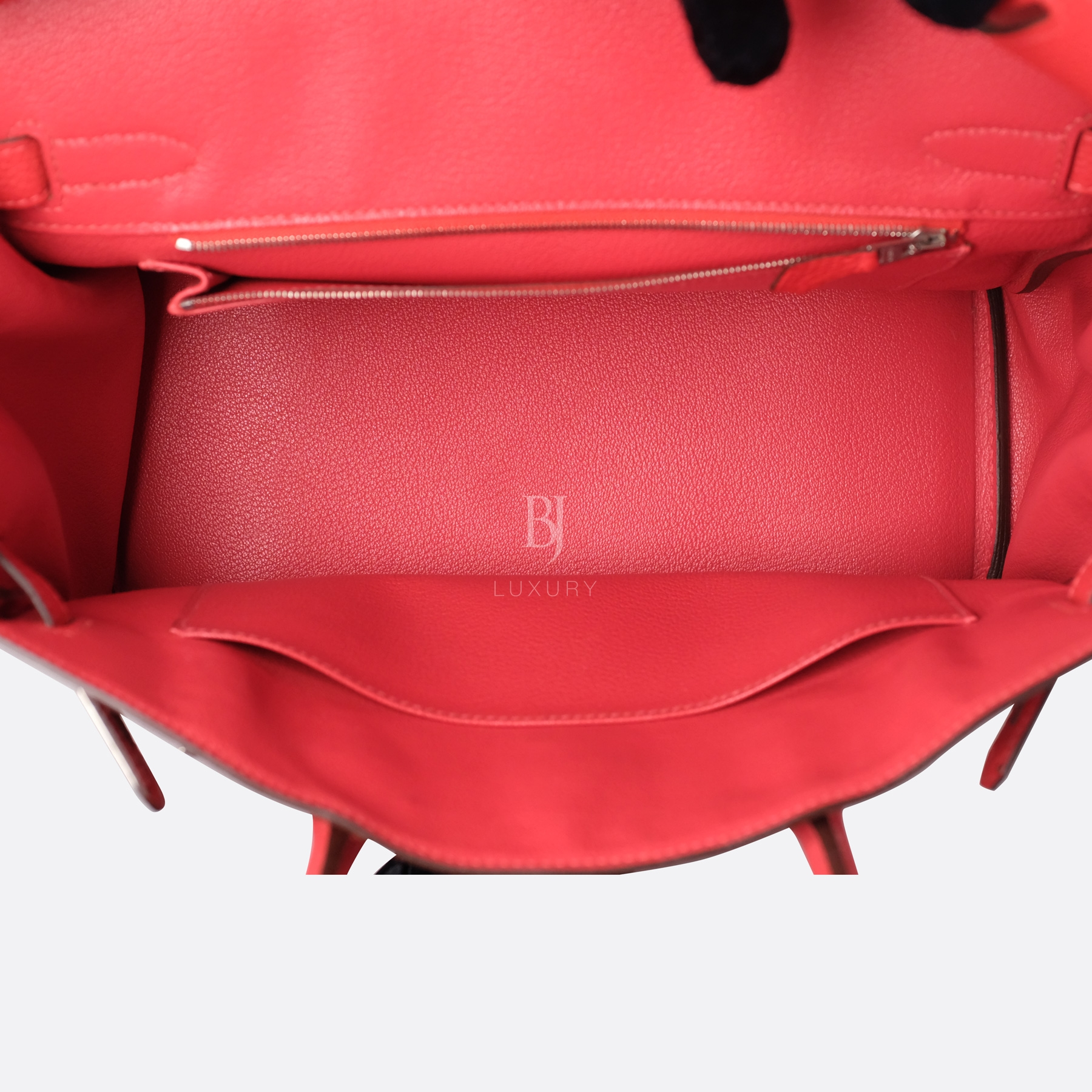 Hermes Birkin 30 Rougue Pivoine Togo Palladium BJ Luxury 8.jpg
