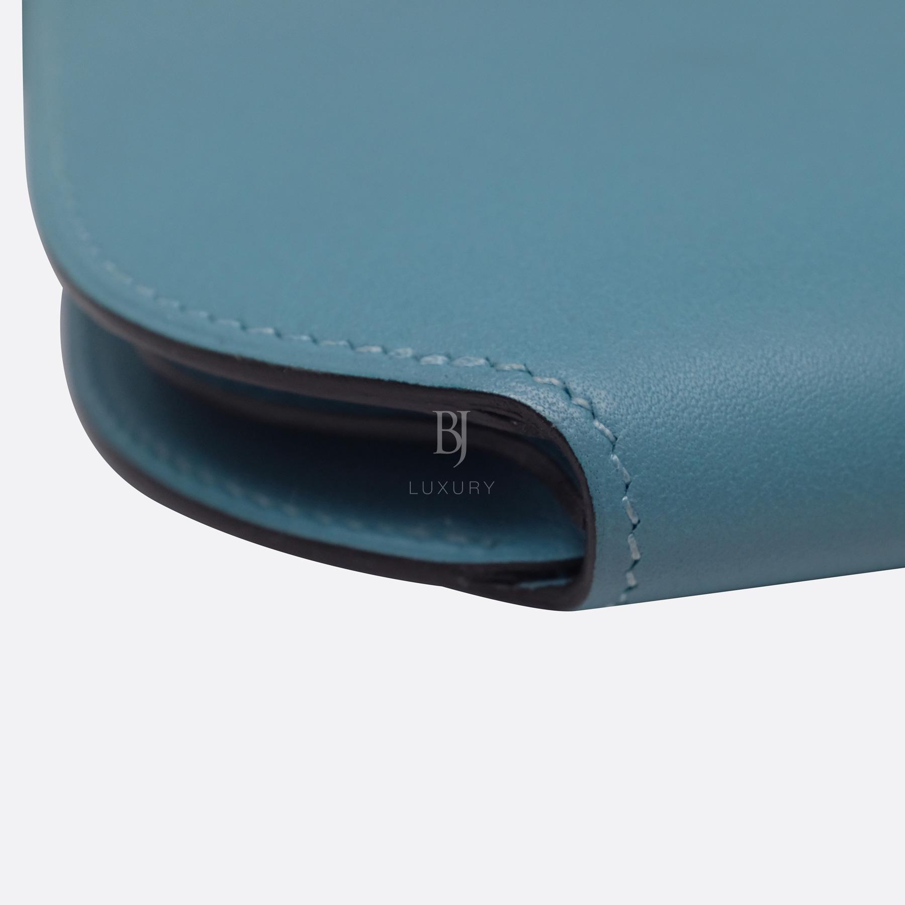 Hermes Conveyor Bag 16 Turquoise Swift Lizard Palladium BJ Luxury 10.jpg